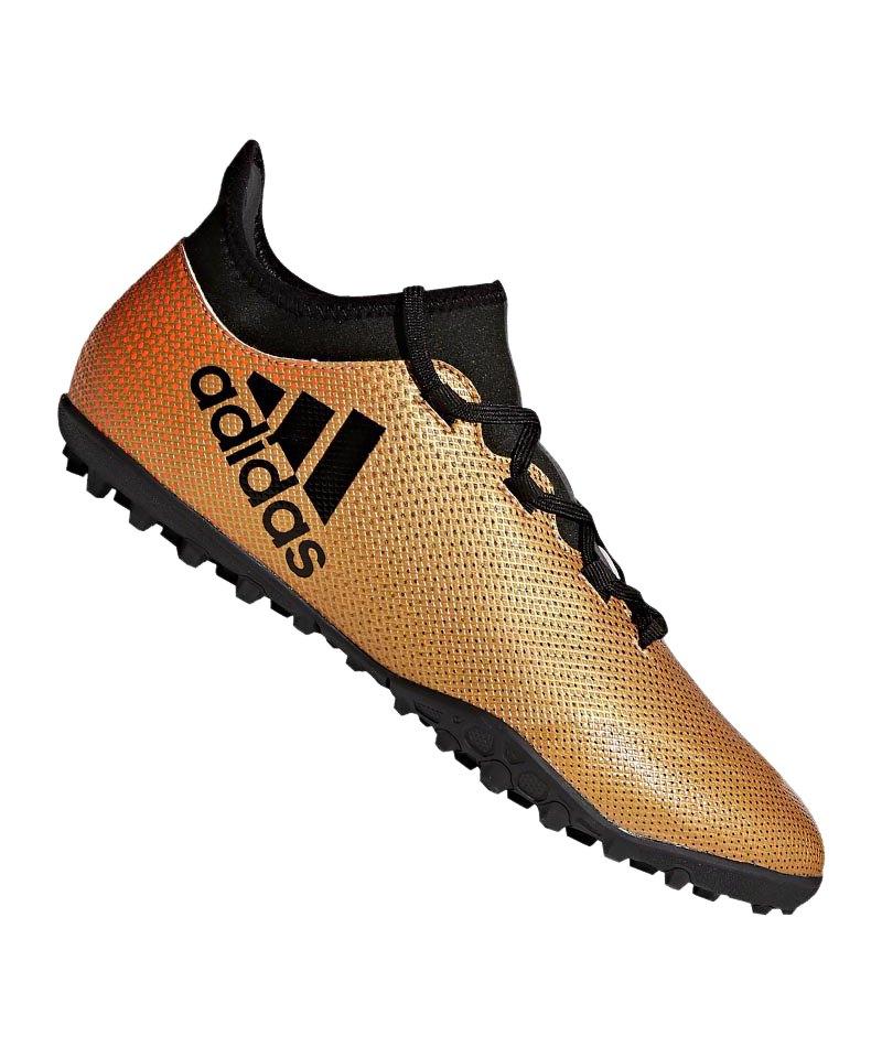 adidas X Tango 17.3 TF Gold Schwarz - gold
