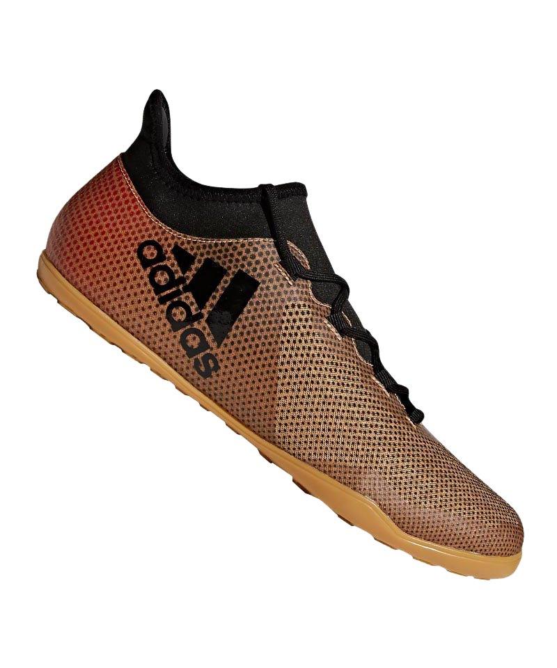 adidas X Tango 17.3 IN Halle Gold Schwarz - gold