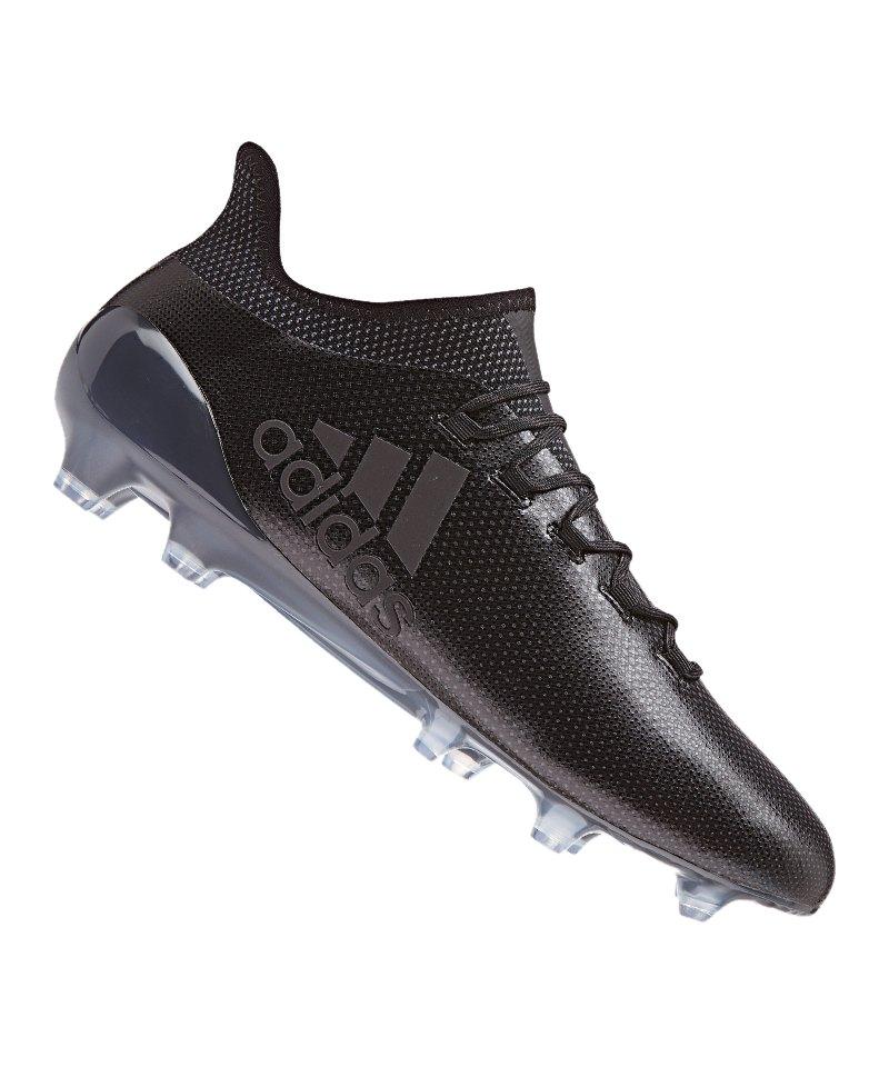 adidas X 17.1 FG Schwarz - schwarz