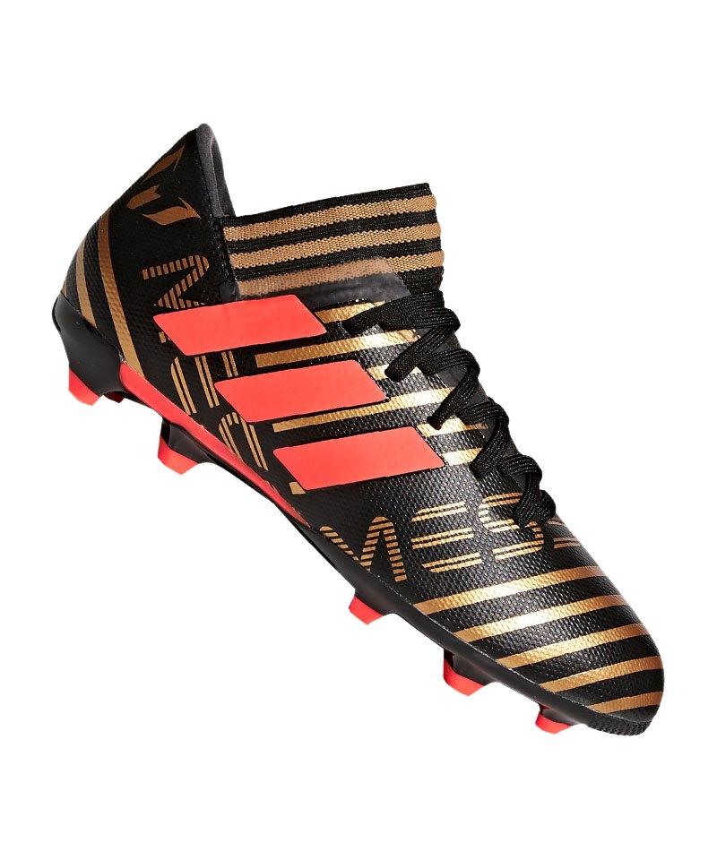 adidas NEMEZIZ Messi 17.3 FG J Kids Schwarz Rot - schwarz