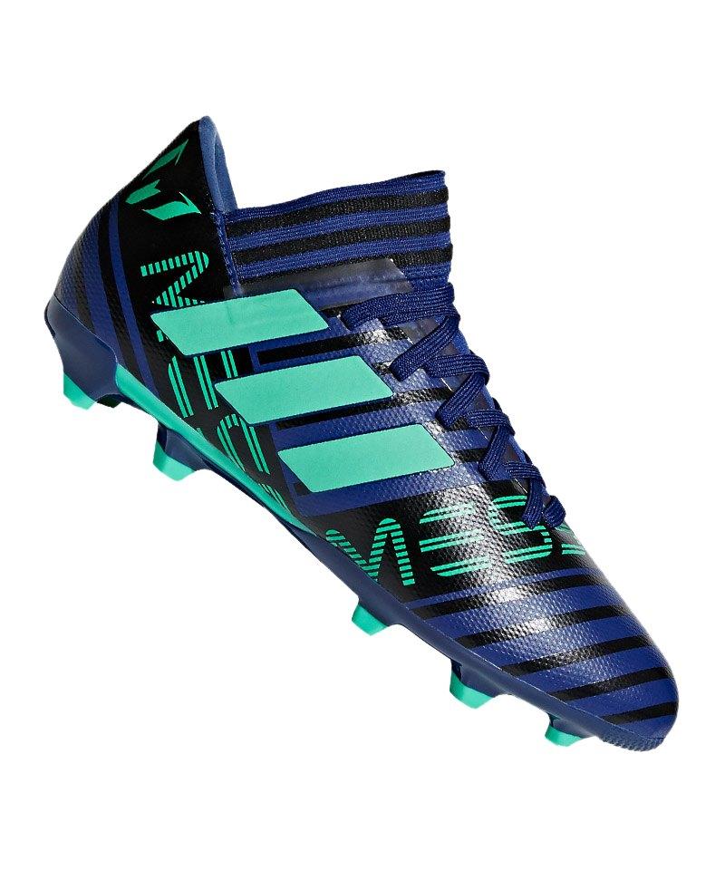 adidas NEMEZIZ Messi 17.3 FG J Kids Blau Grün - blau