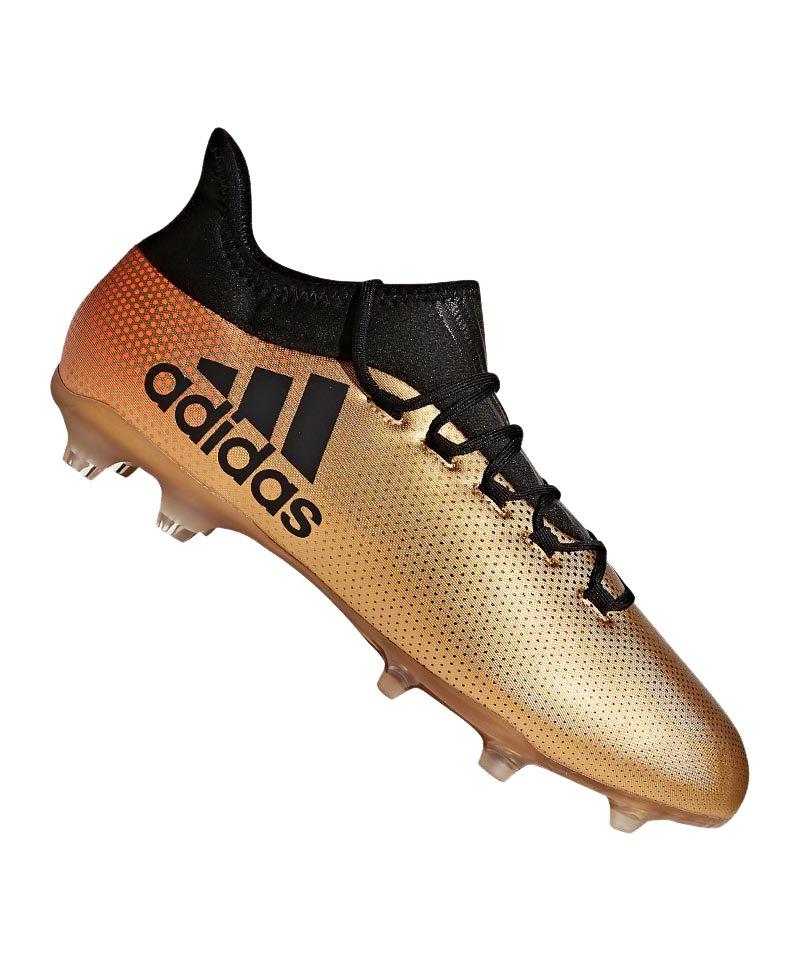 adidas X 17.2 FG Gold Schwarz - gold