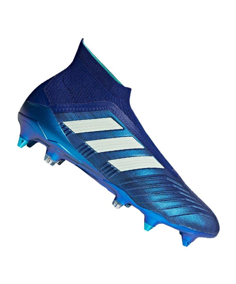adidas Predator 18+ SG Blau Grün - blau