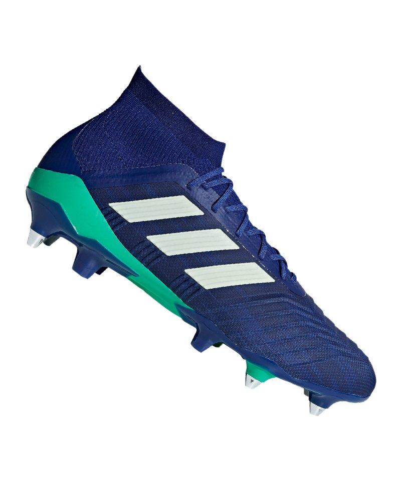 adidas Predator 18.1 SG Blau Grün - blau