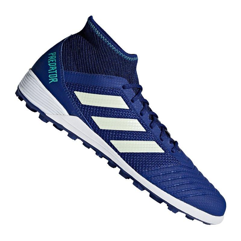 adidas Predator Tango 18.3 TF Blau Grün - blau