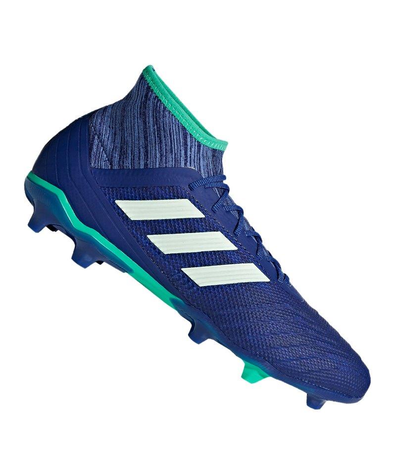 adidas Predator 18.2 FG Blau Grün - blau