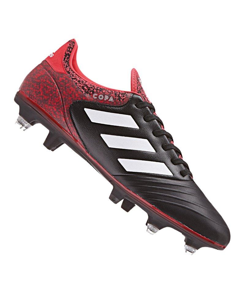 adidas COPA 18.2 SG Schwarz Rot - schwarz