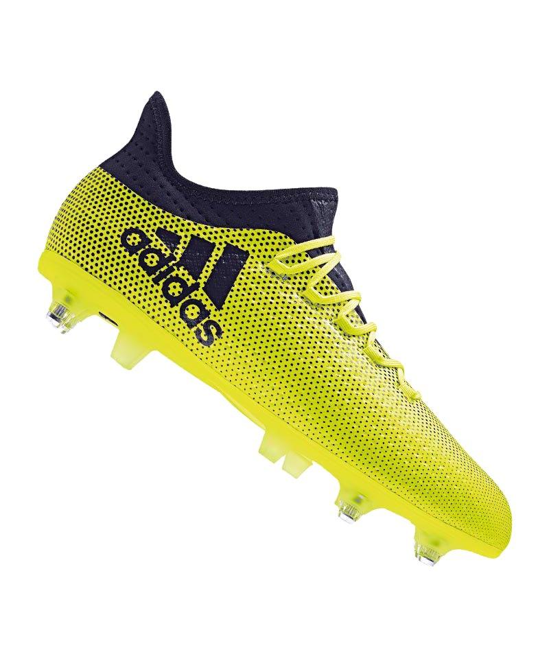 adidas SG X 17.2 Gelb Blau - gelb