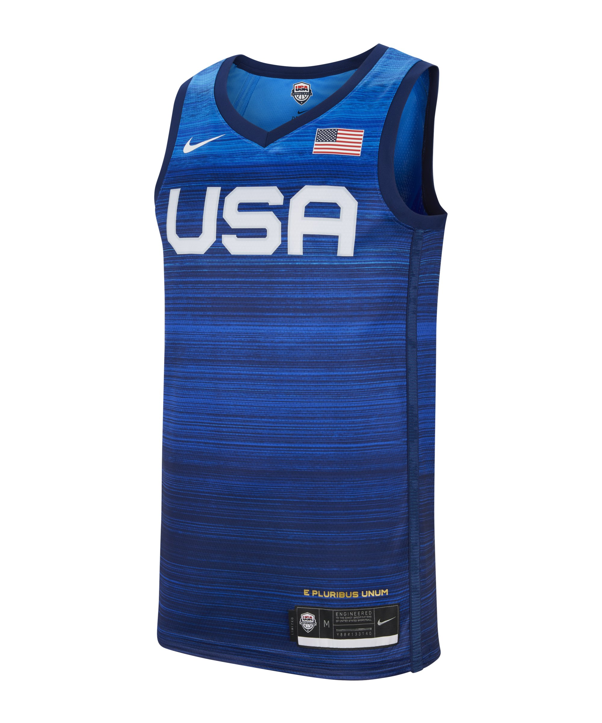Nike USA Trikot LE Basketball F451 - grau