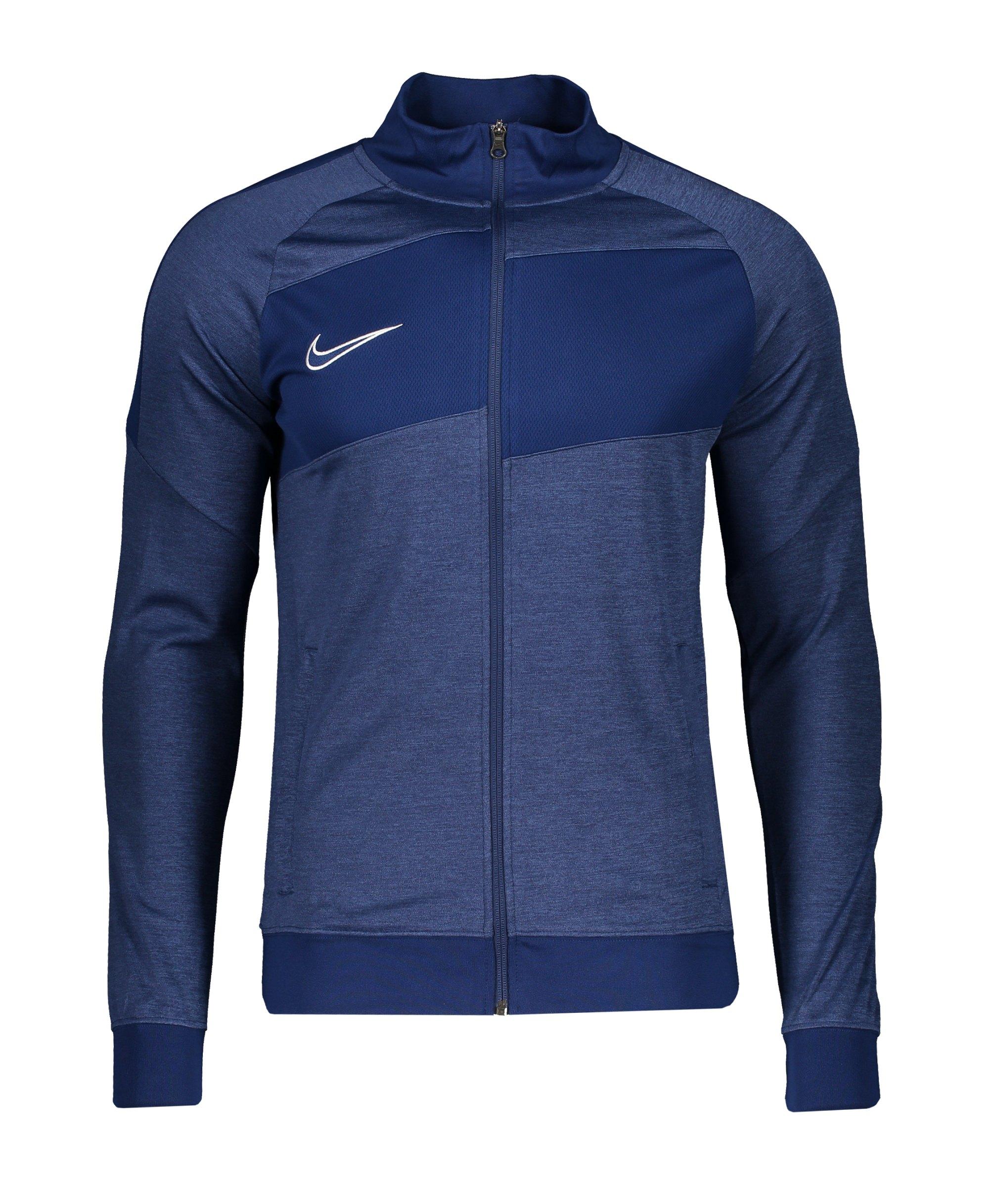 Nike Dry Academy I96 Trainingsjacke Blau F492 - blau