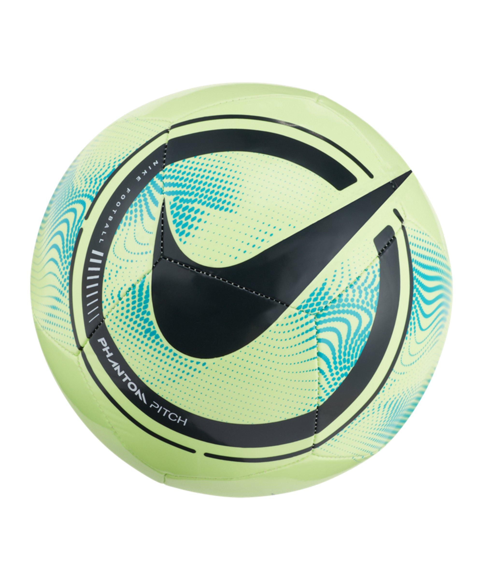 Nike Phantom Trainingsball Grün Schwarz F345 - gruen