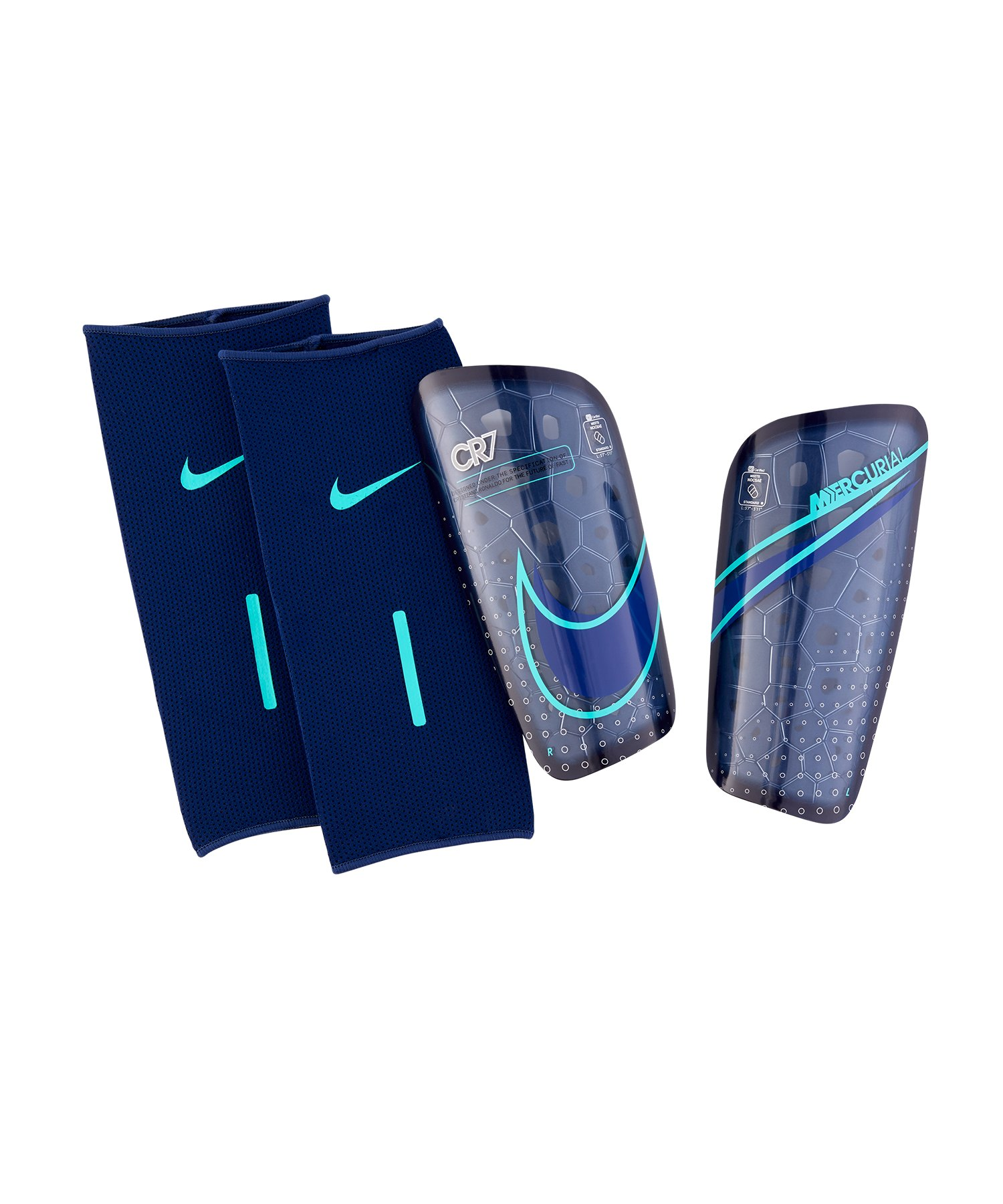 Nike CR7 Mercurial Lite Schienbeinschoner F492 - blau