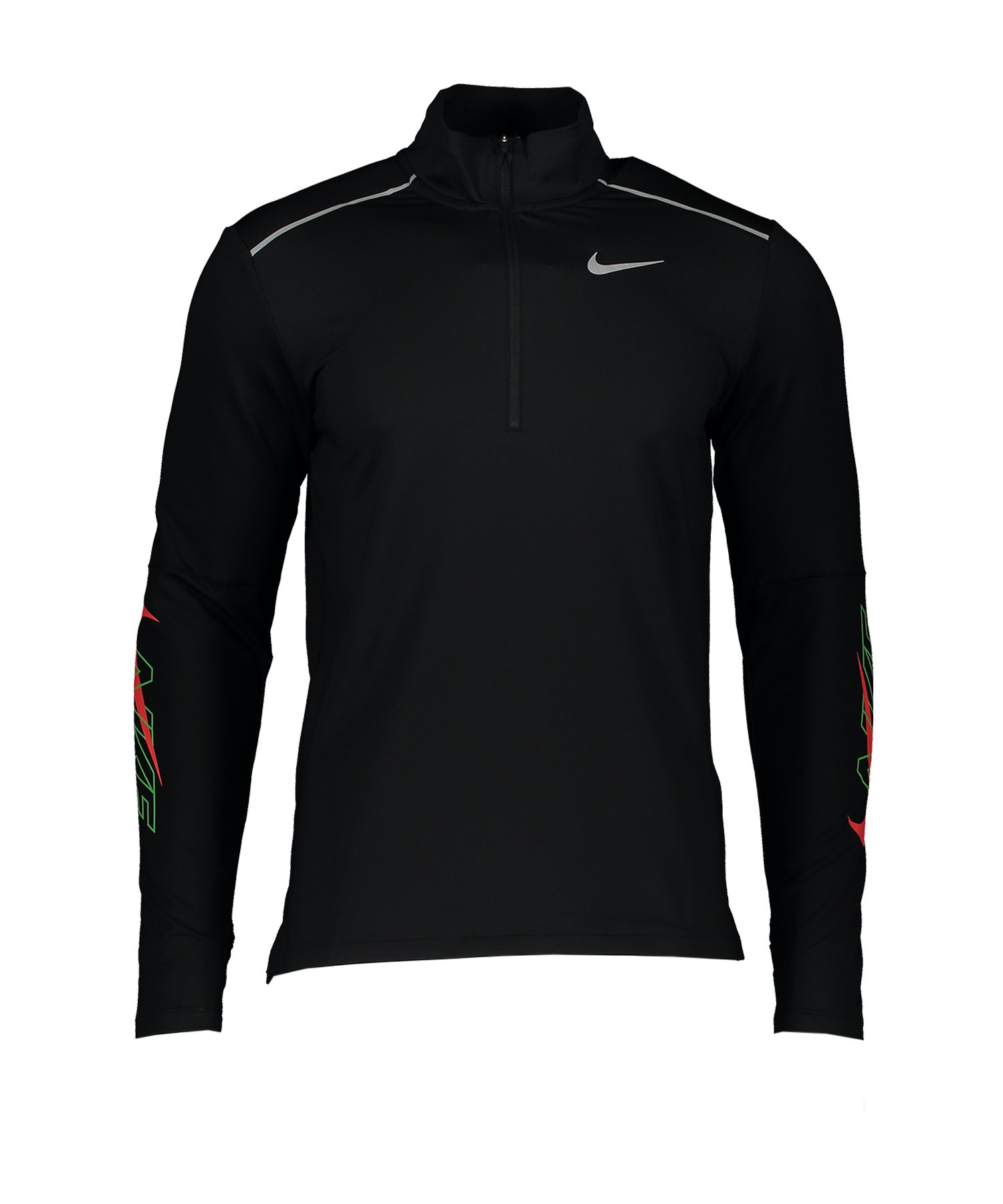 Nike Element Running 1/2-Zip Top langarm F010 - schwarz