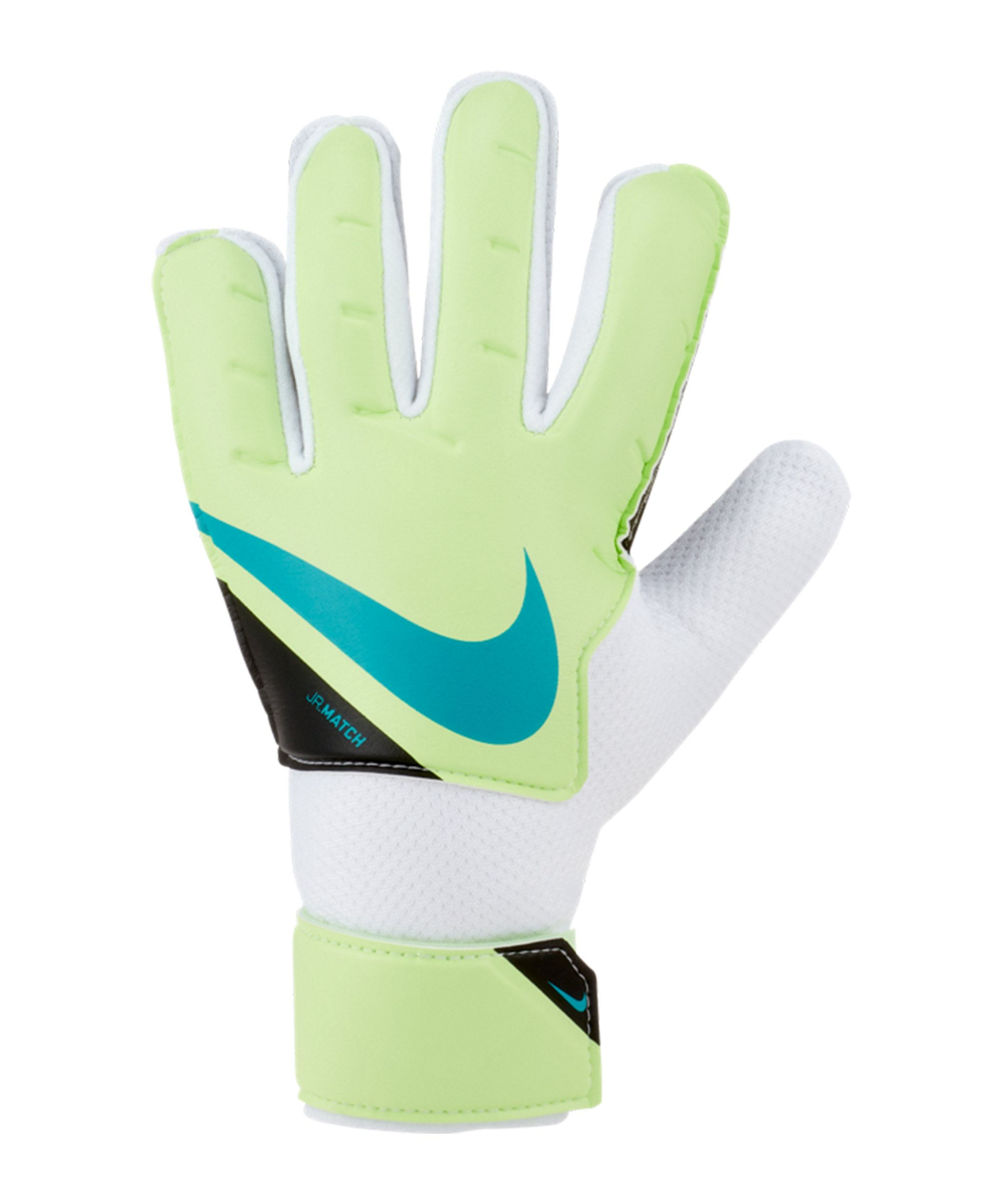 Nike Jr. Match Torwarthandschuh Kids Grün F345 - gelb