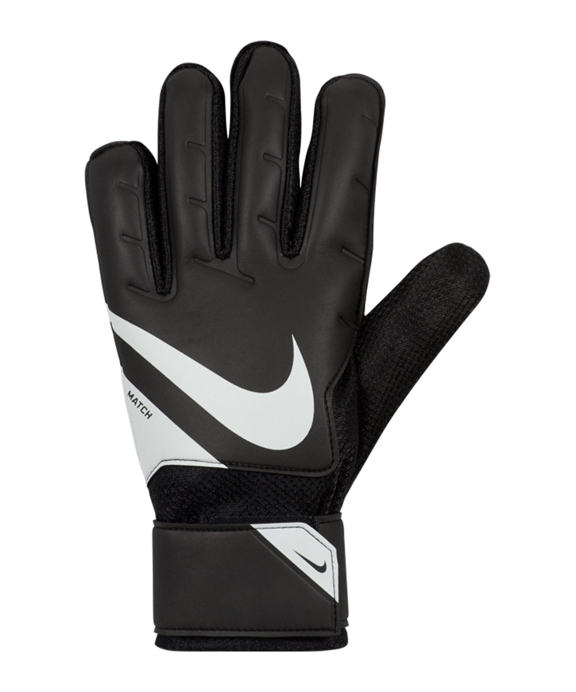 Nike Match Black X Chile Torwarthandschuh Schwarz F010 - schwarz