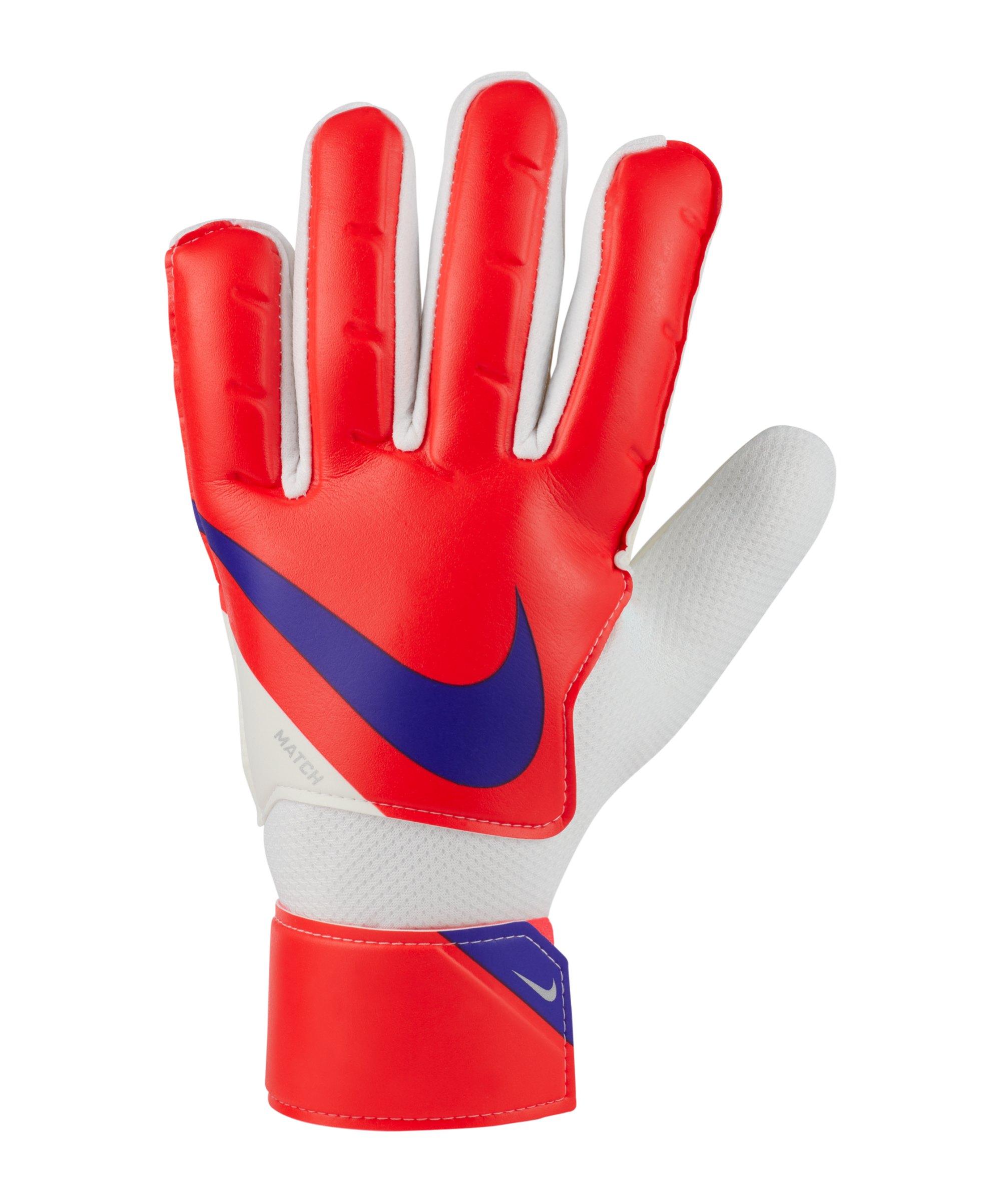 Nike Match Torwarthandschuh Rot Lila F635 - rot