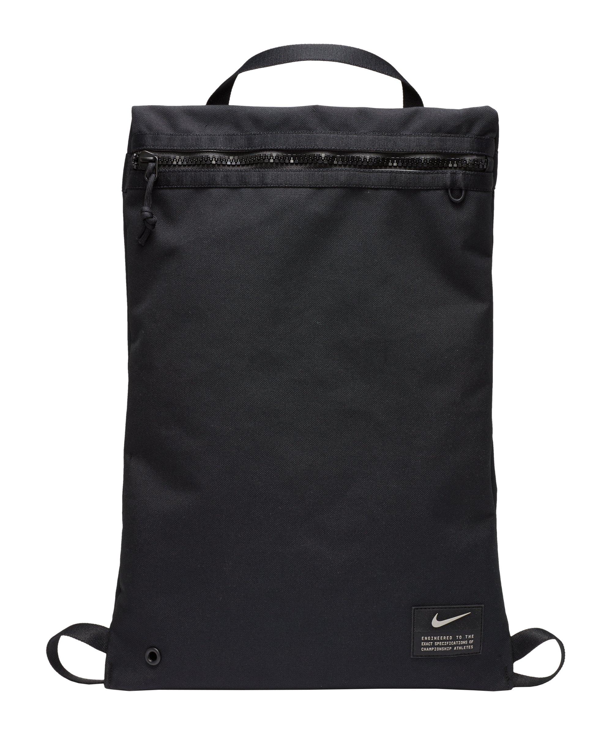 Nike Utility Gymsack Schwarz F010 - schwarz