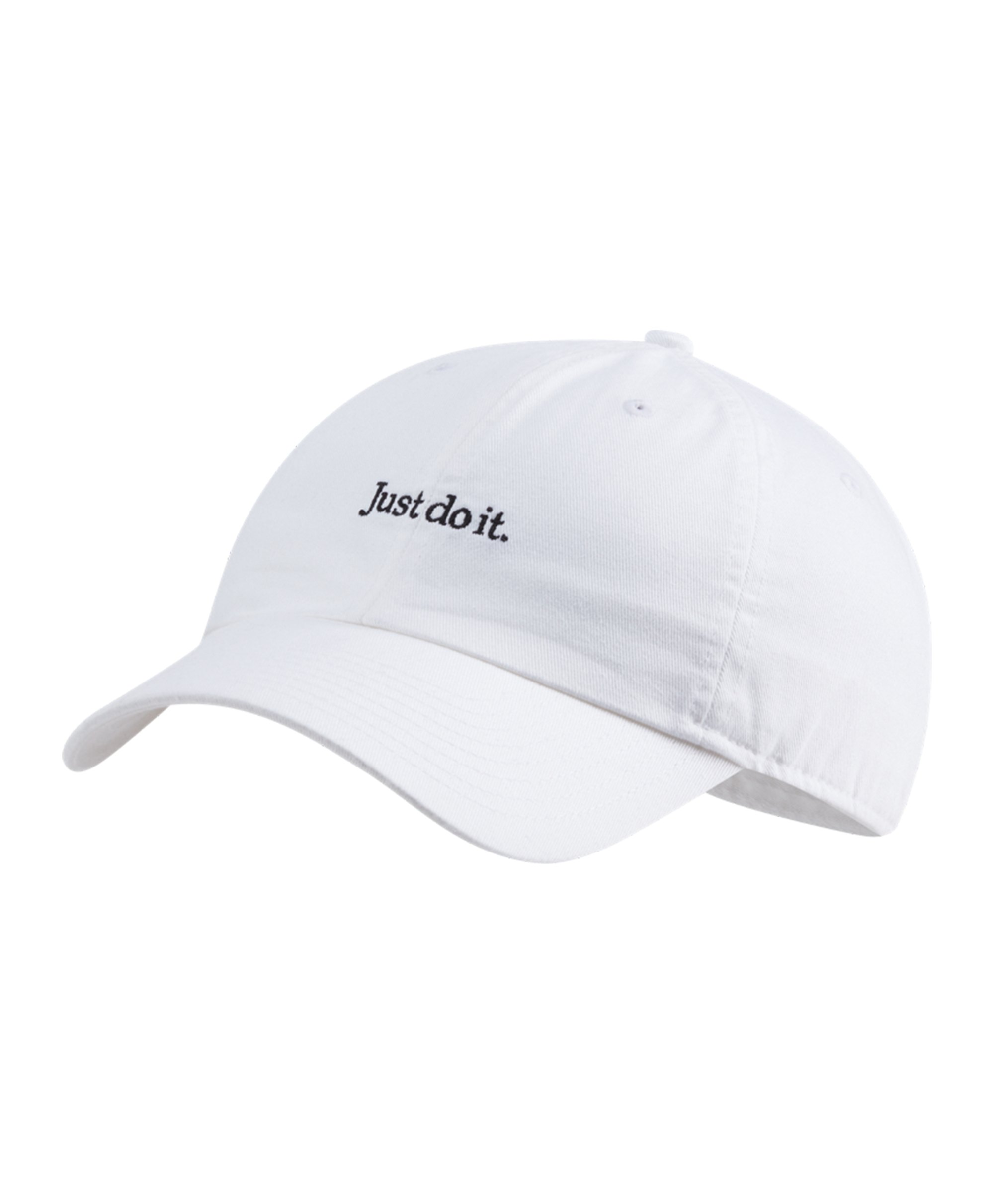 Nike Heritage 86 Just Do It Cap Weiss F100 - weiss