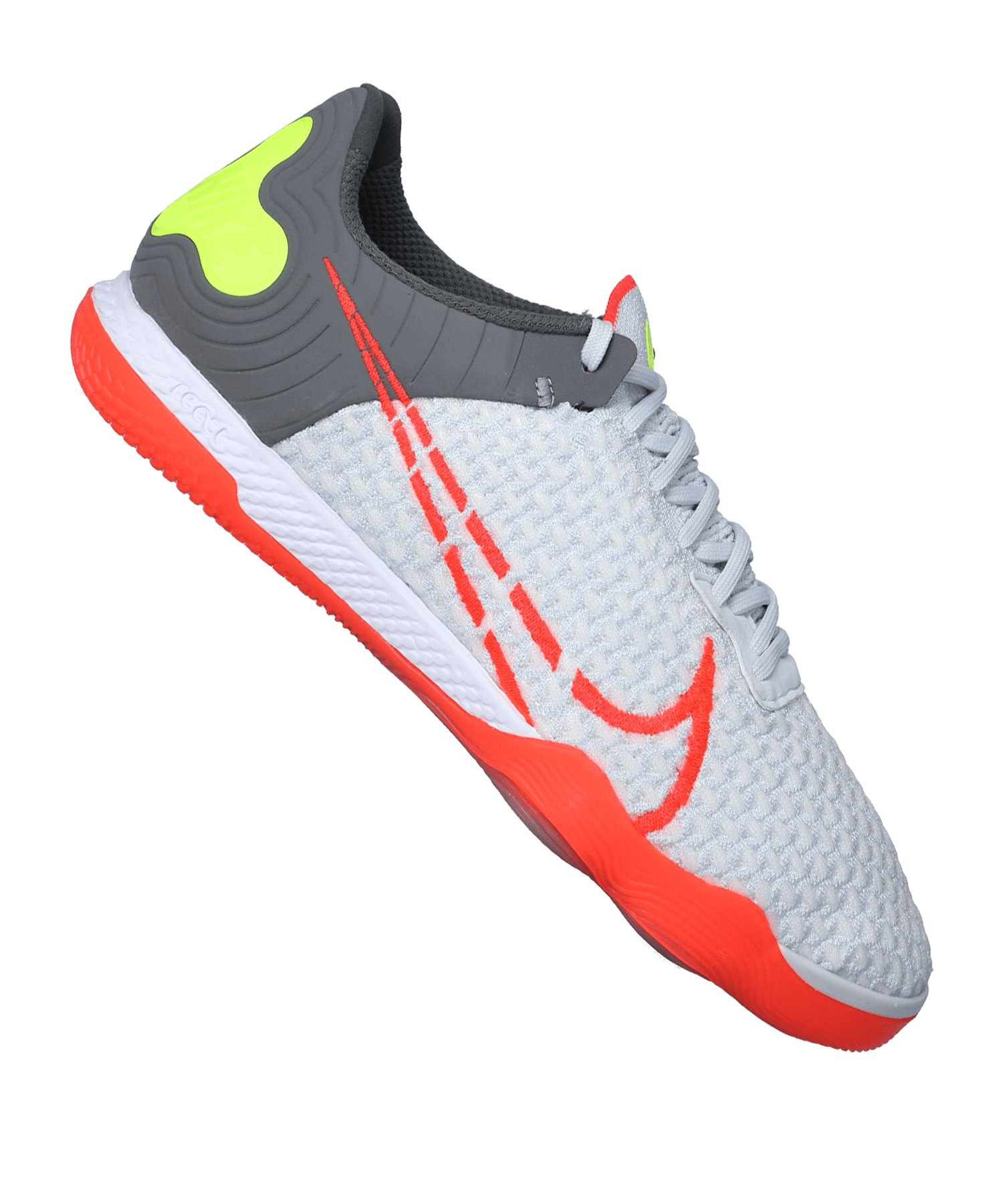 Nike React Gato IC Halle Weiss Rot F160 - weiss