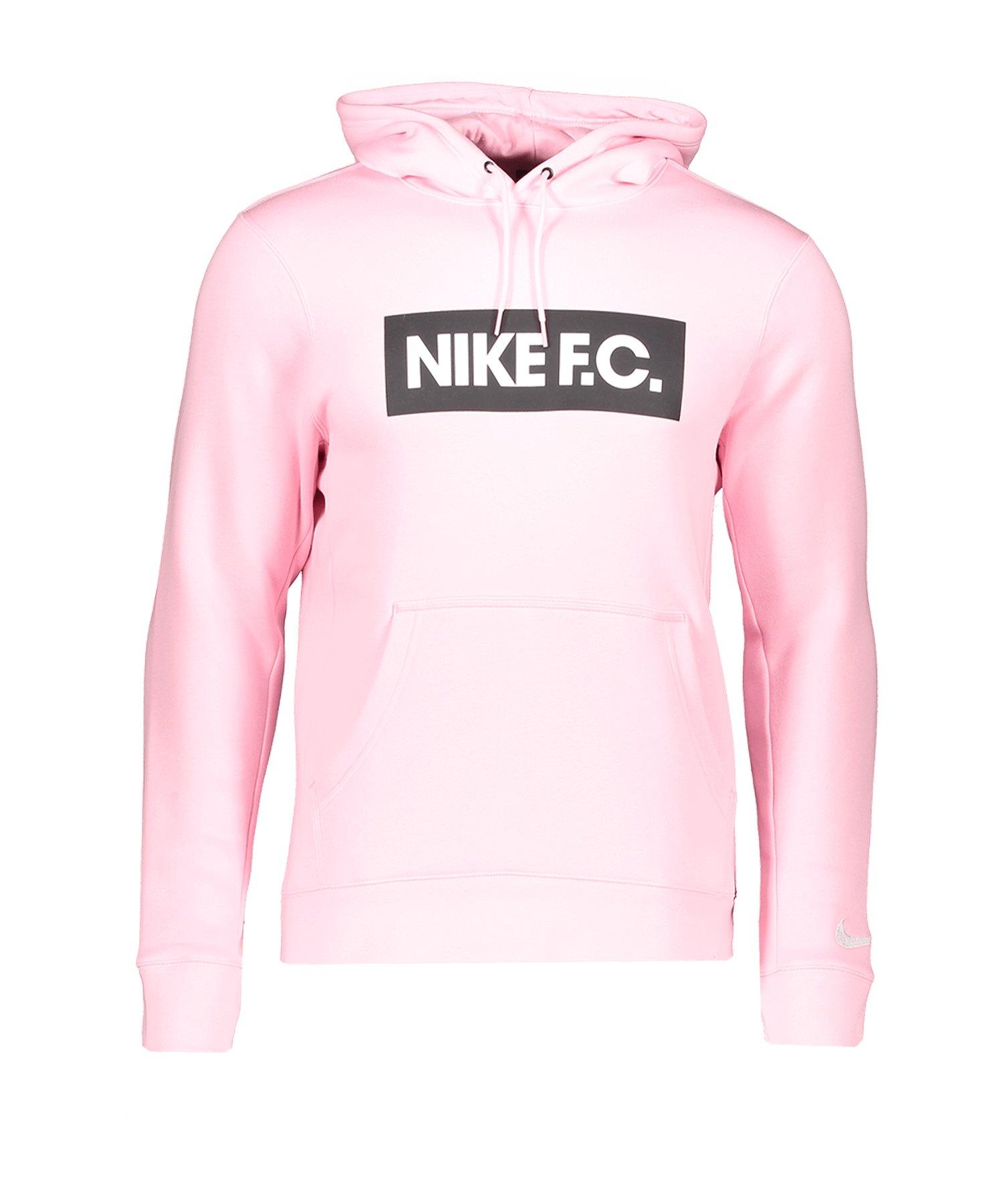 Nike F.C. Fleece Kapuzensweatshirt Pink F654 - pink