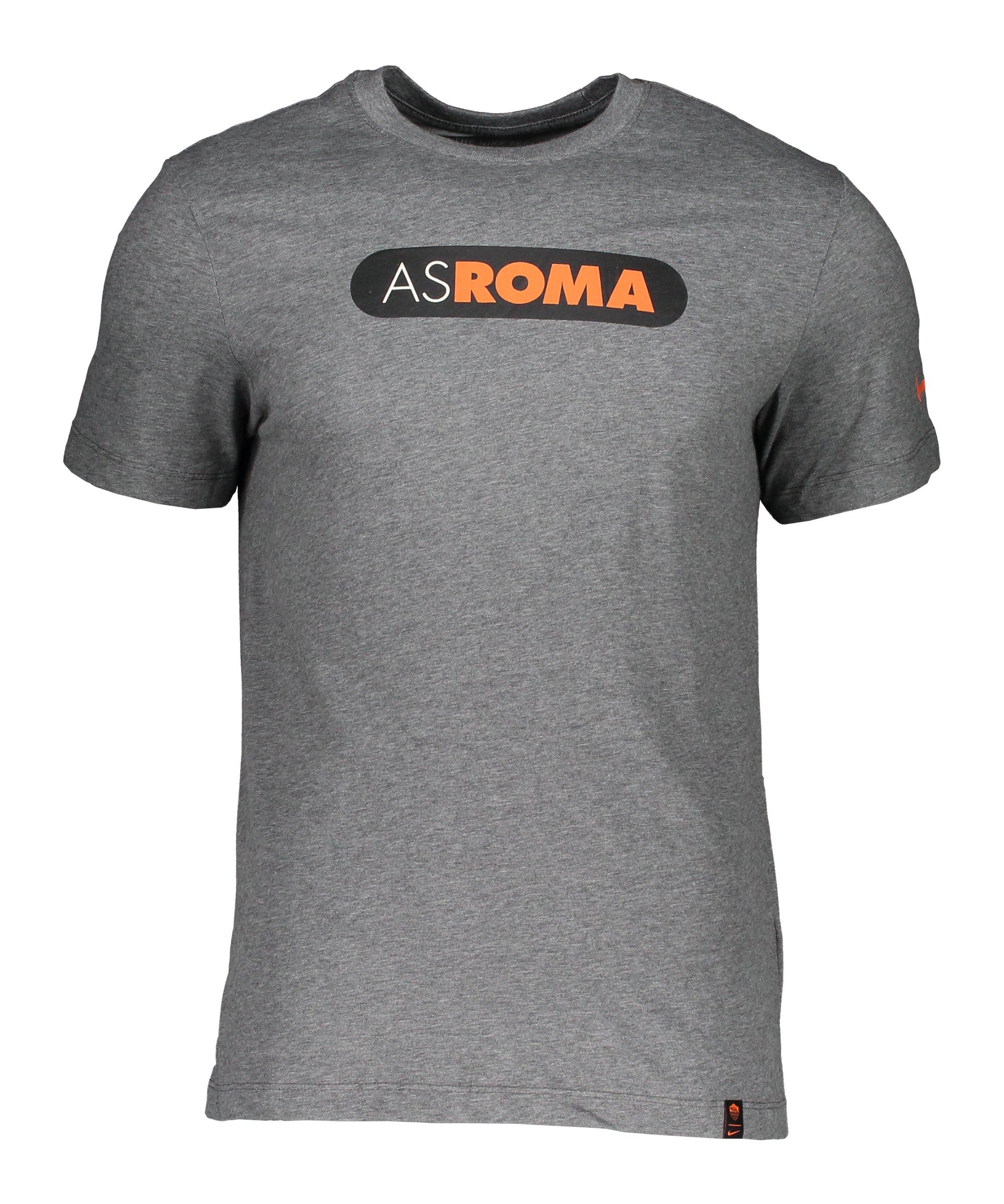 Nike AS Rom Ground T-Shirt Grau F071 - grau