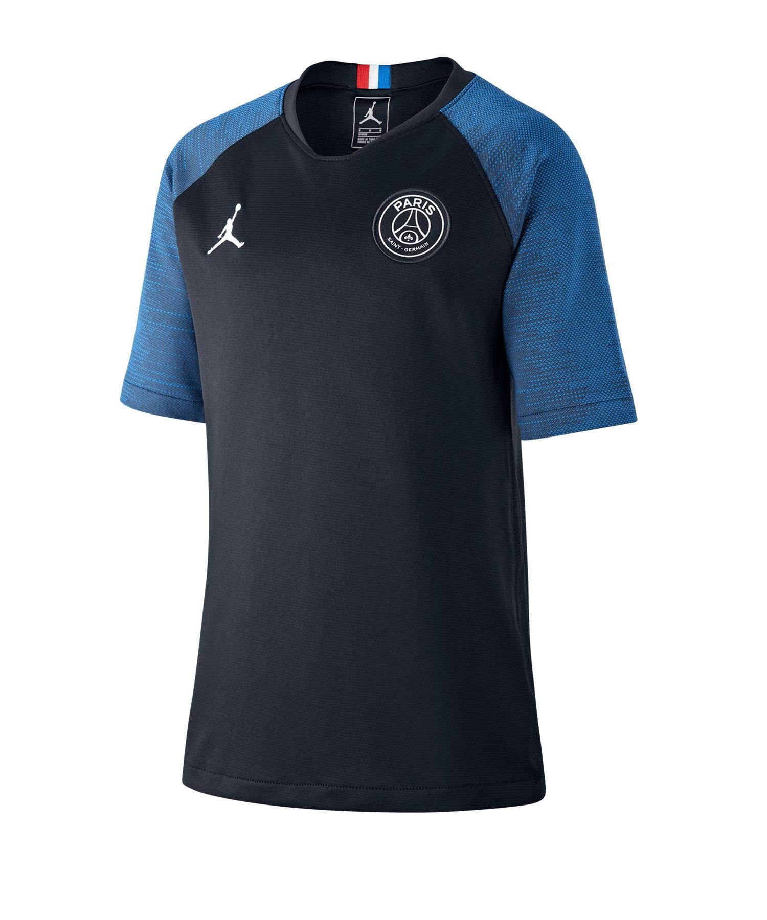 Jordan Paris St. Germain Breathe T-Shirt Kids F010 - schwarz