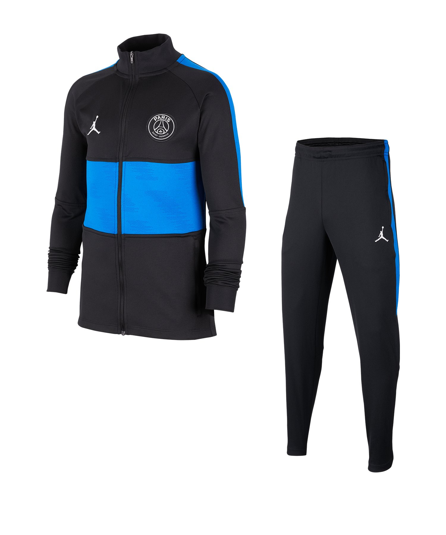 Jordan Paris St. Germain Trainingsanzug Kids F010 - schwarz
