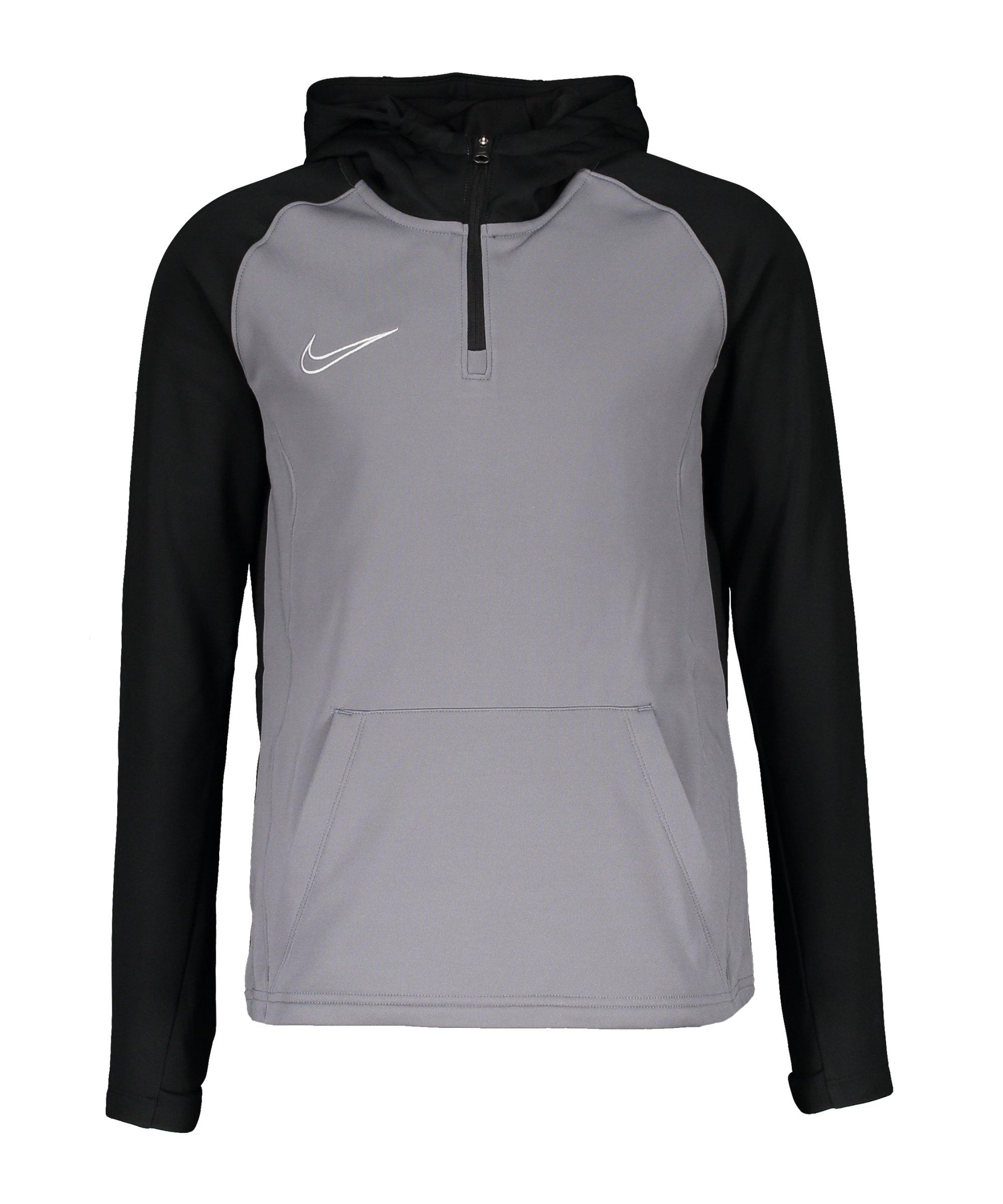 Nike Dry Academy Drill Hoody Kids F084 - grau