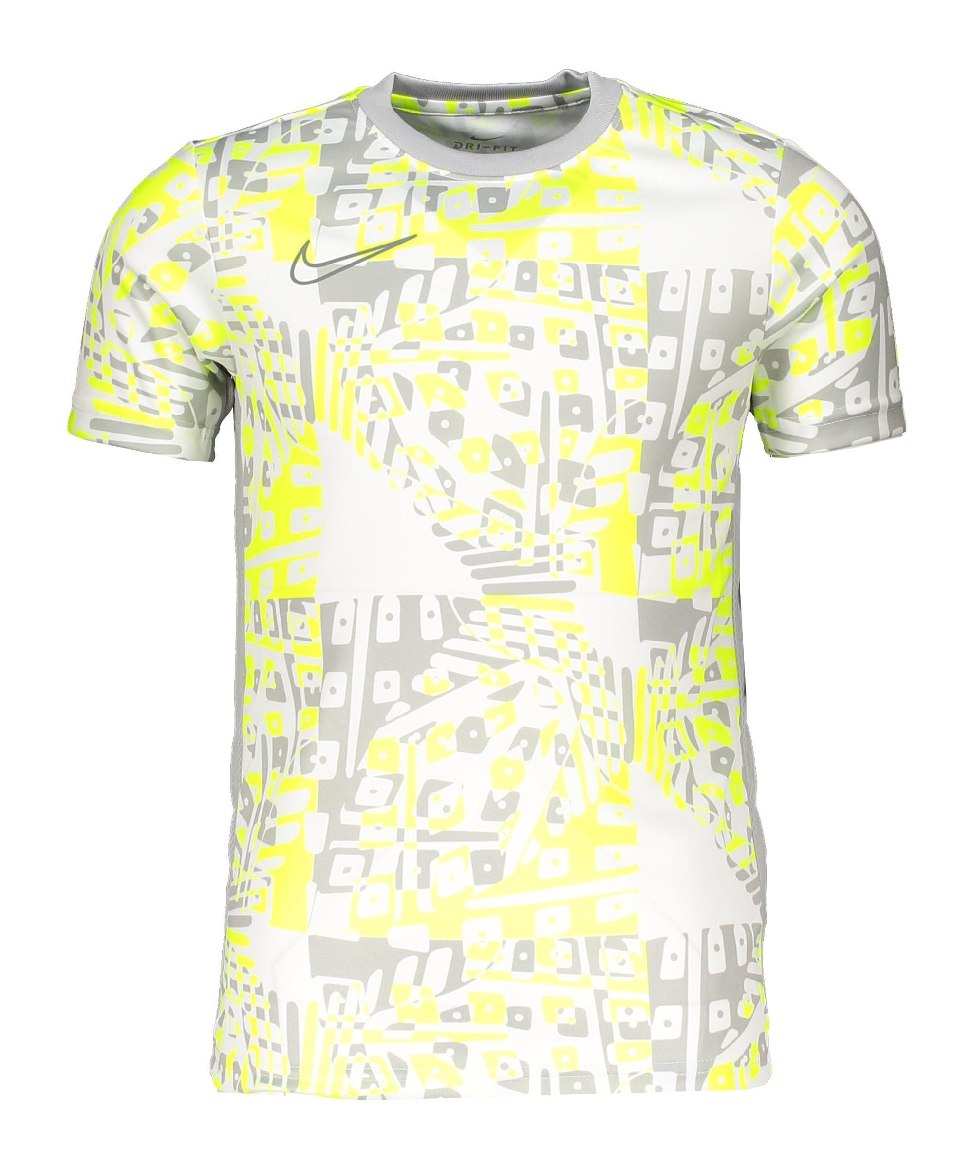 Nike Dry Academy Top T-Shirt Kids Weiss F100 - weiss