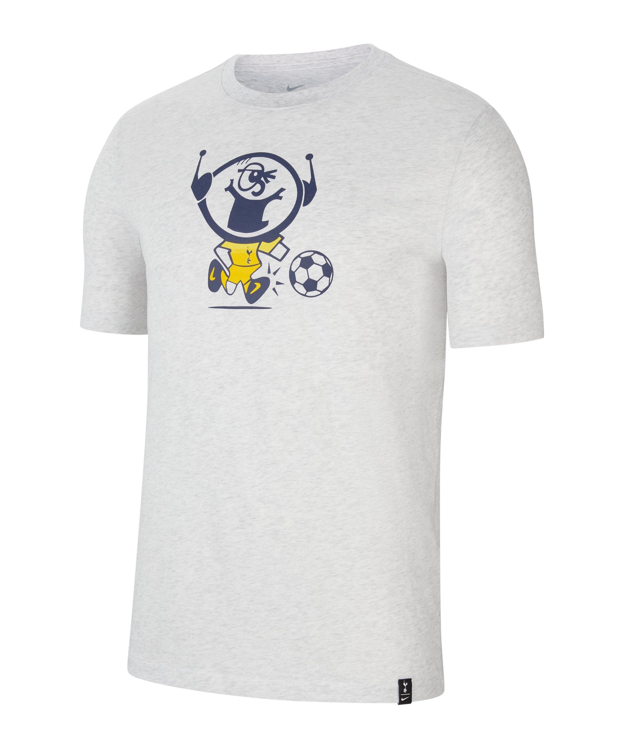 Nike Tottenham Hotspur Ignite T-Shirt Grau F051 - beige