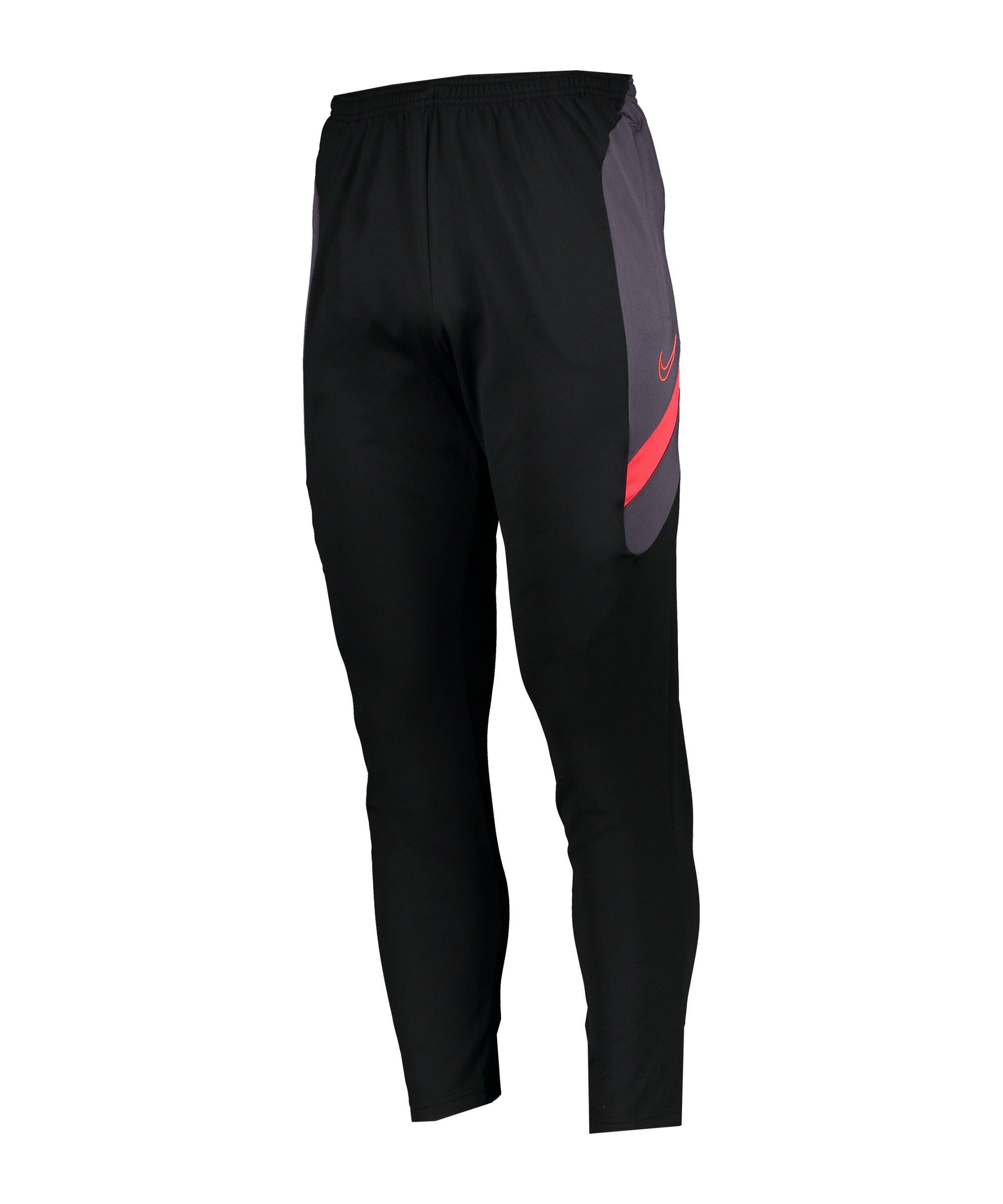 Nike Dry Academy Trainingshose Schwarz Lila F014 - schwarz