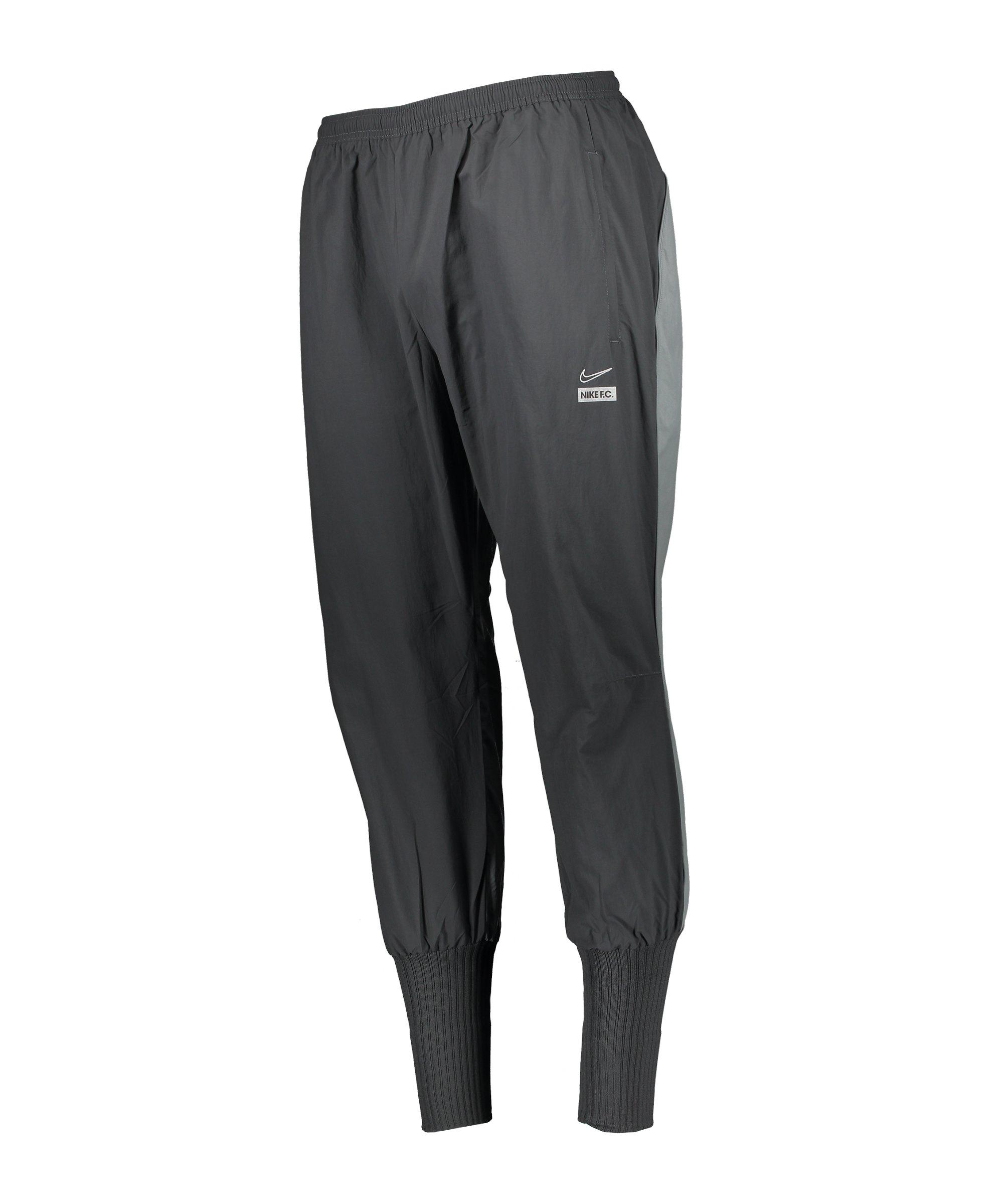 Nike F.C. Woven Cuffed Jogginghose Grau F070 - grau