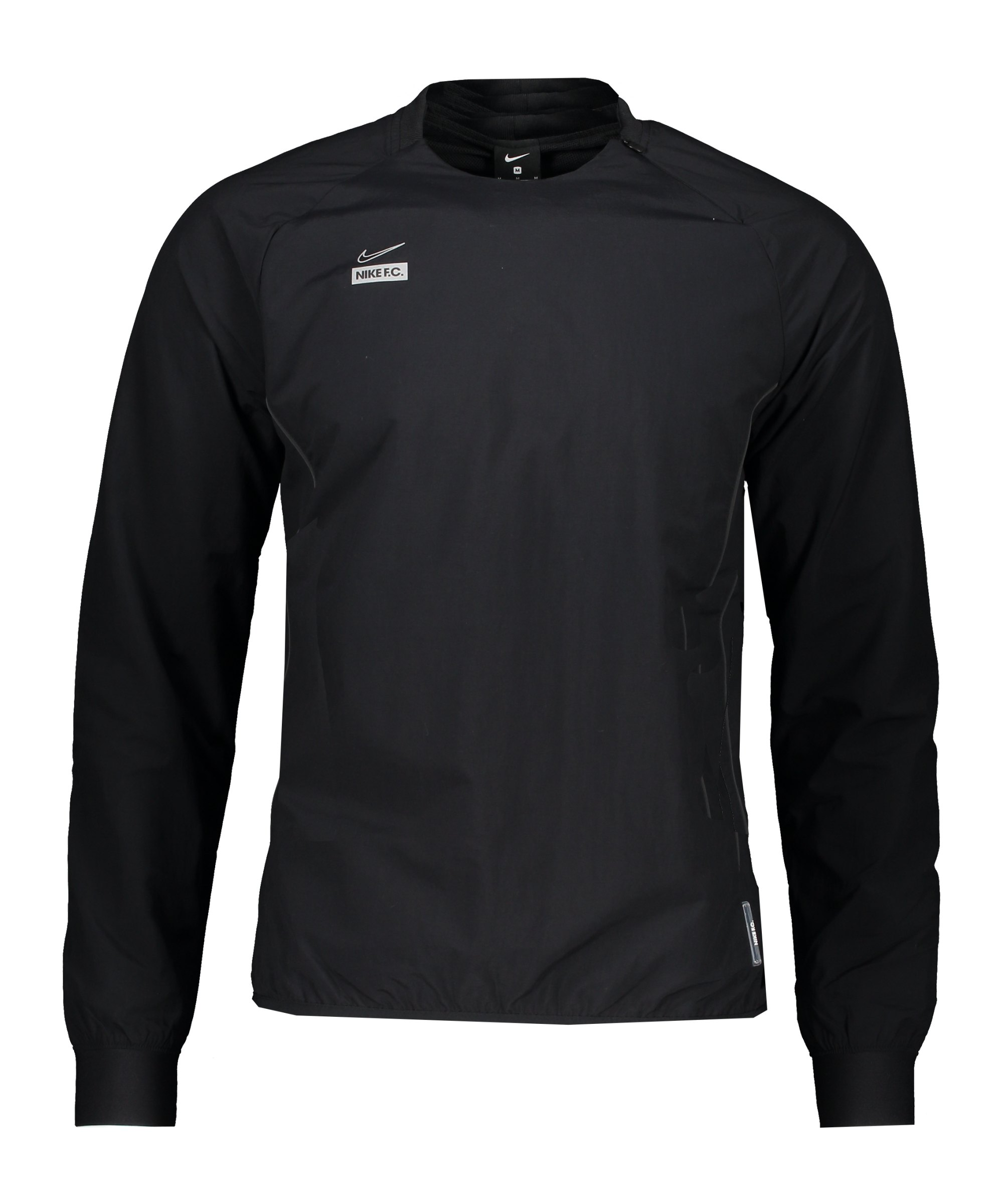 Nike F.C. Crew Sweatshirt Schwarz F010 - schwarz