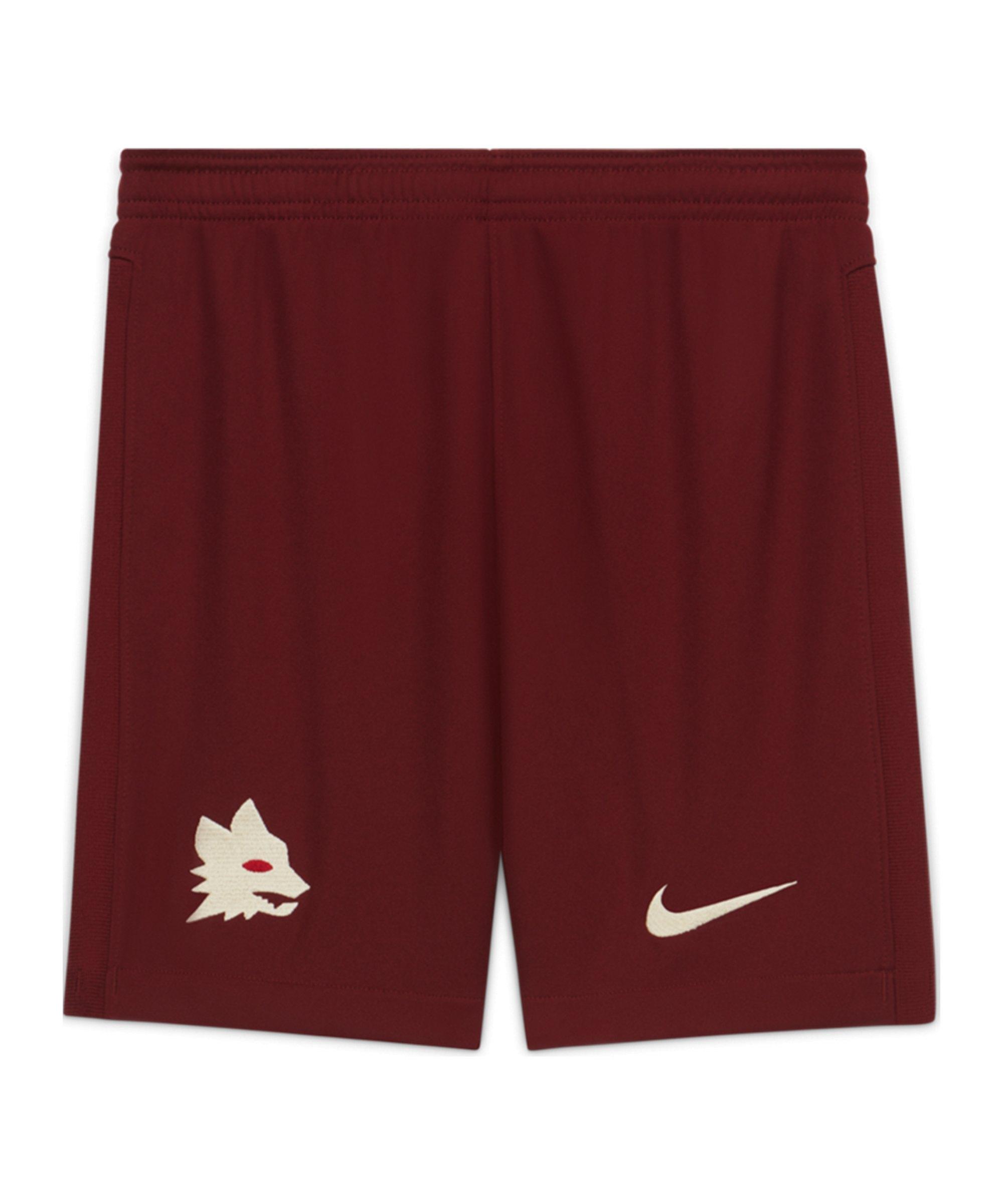 Nike AS Rom Short Away 2020/2021 Kids Rot F619 - rot