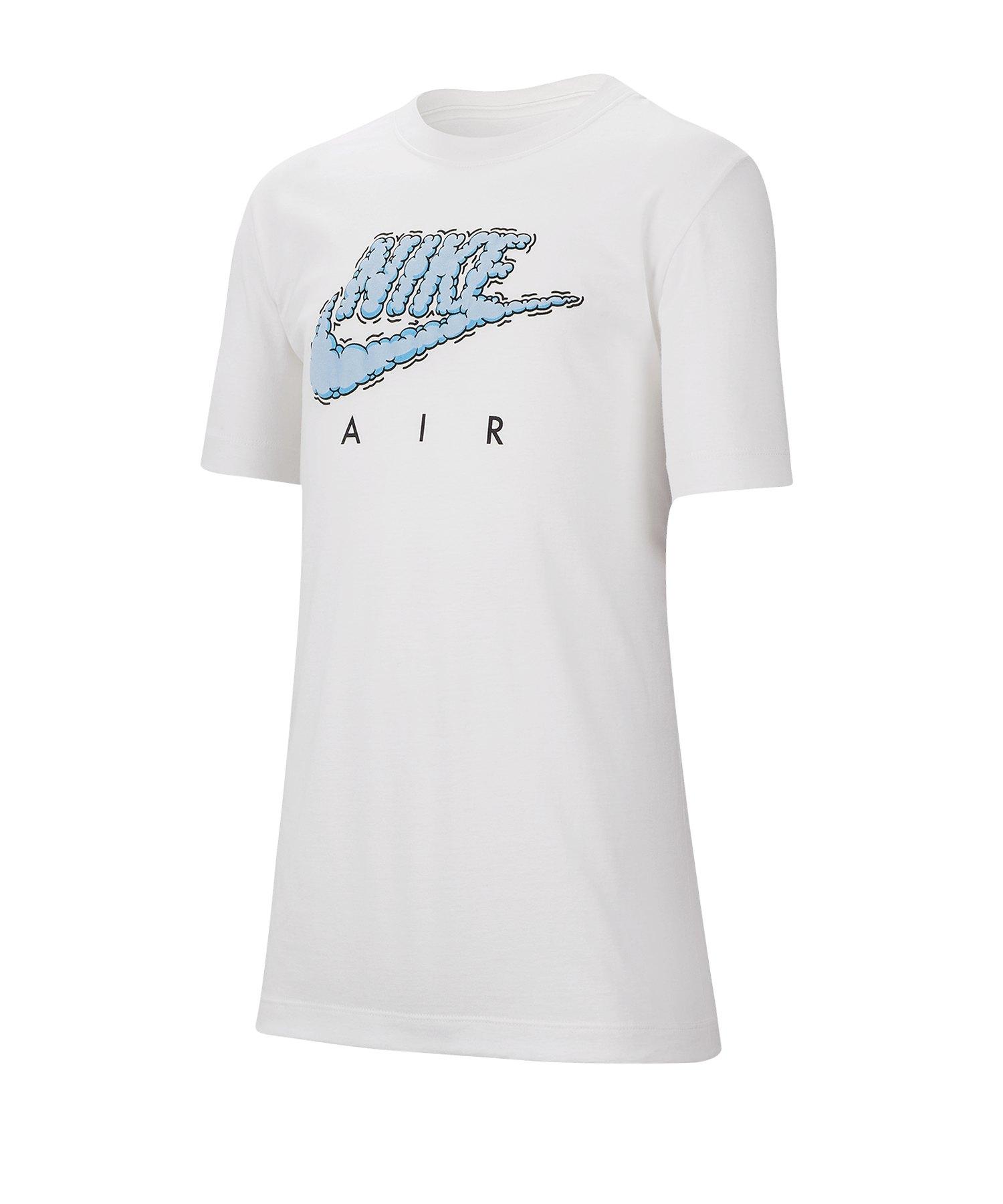 Nike Air T-Shirt Kids Weiss F100 - weiss