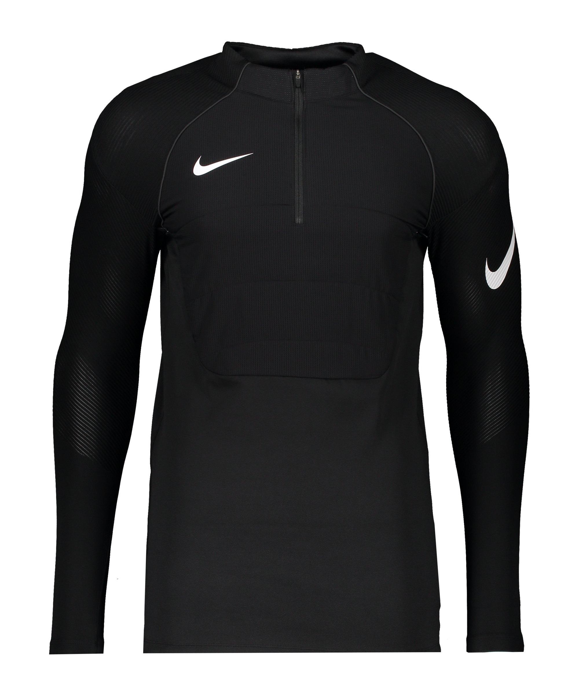 Nike Vaporknit Strike Drill Top Schwarz F010 - schwarz