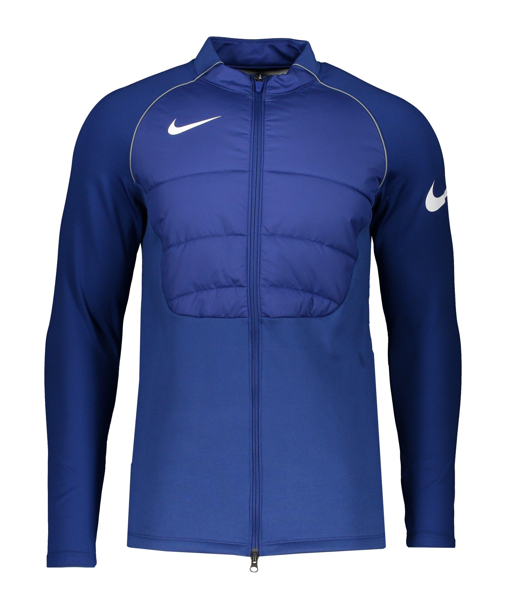 Nike Therma Strike Drill Jacke Blau F455 - blau