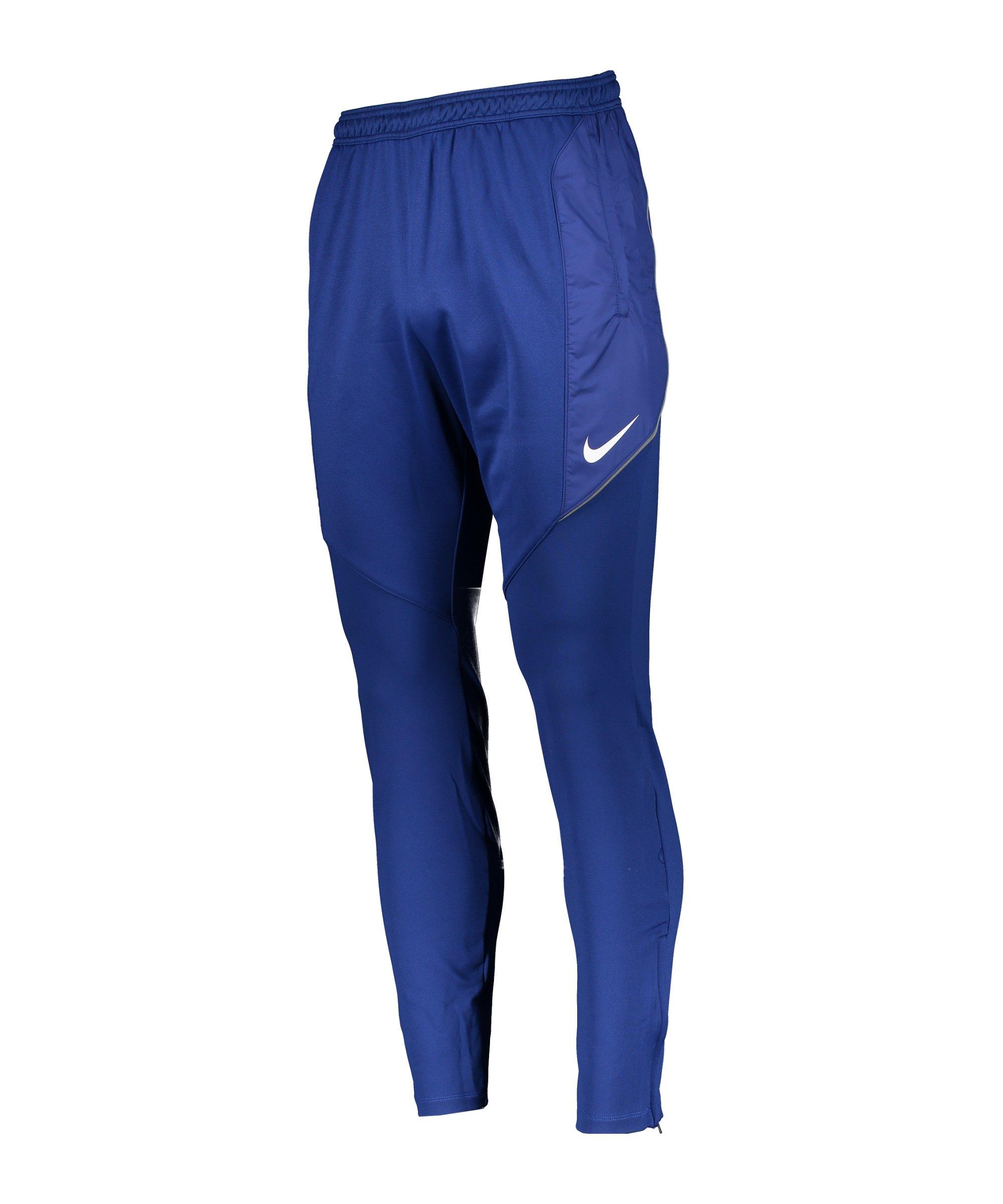 Nike Dry Strike Trainingshose Blau F455 - blau