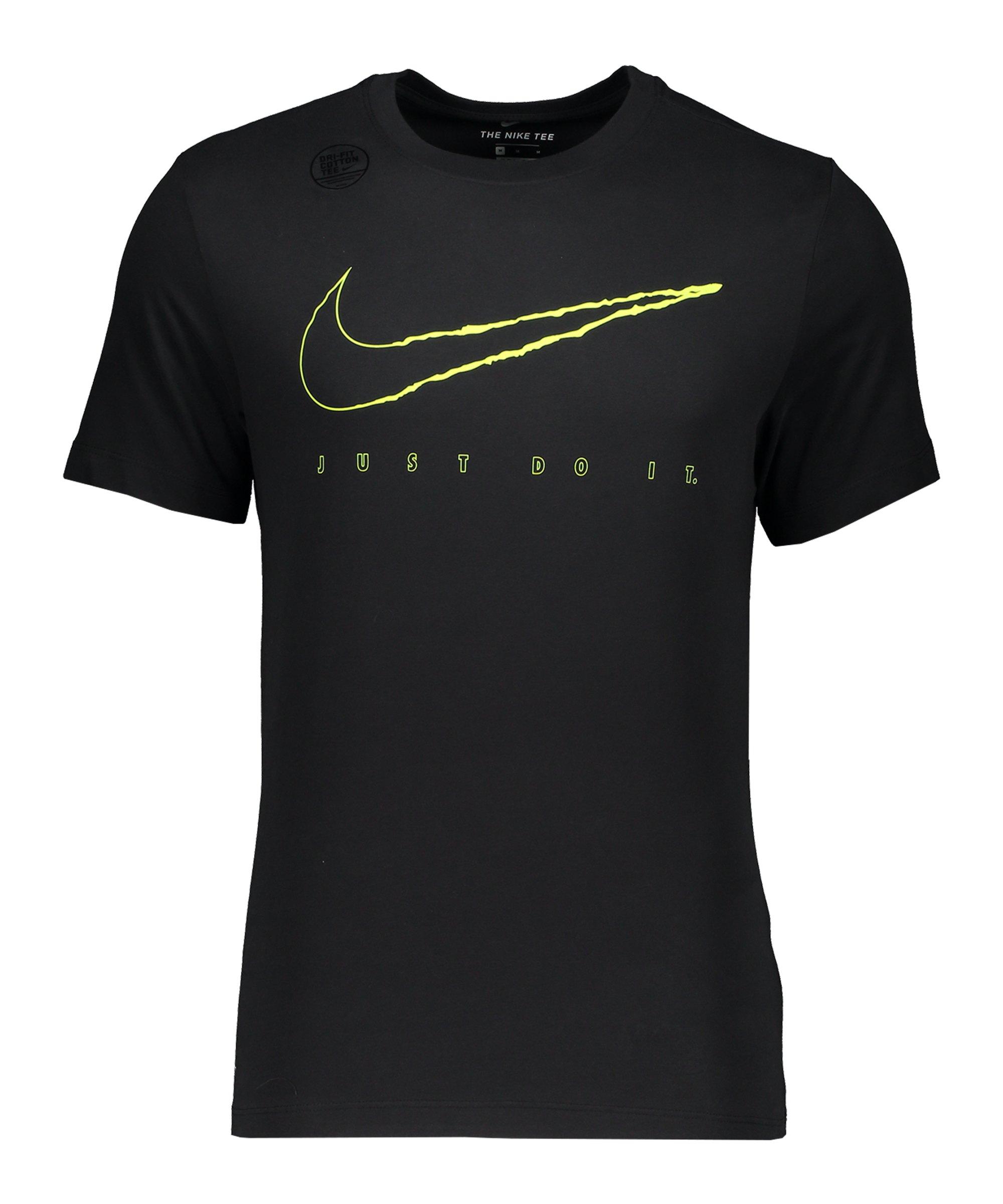 Nike DFC Tee T-Shirt Village Schwarz F011 - schwarz