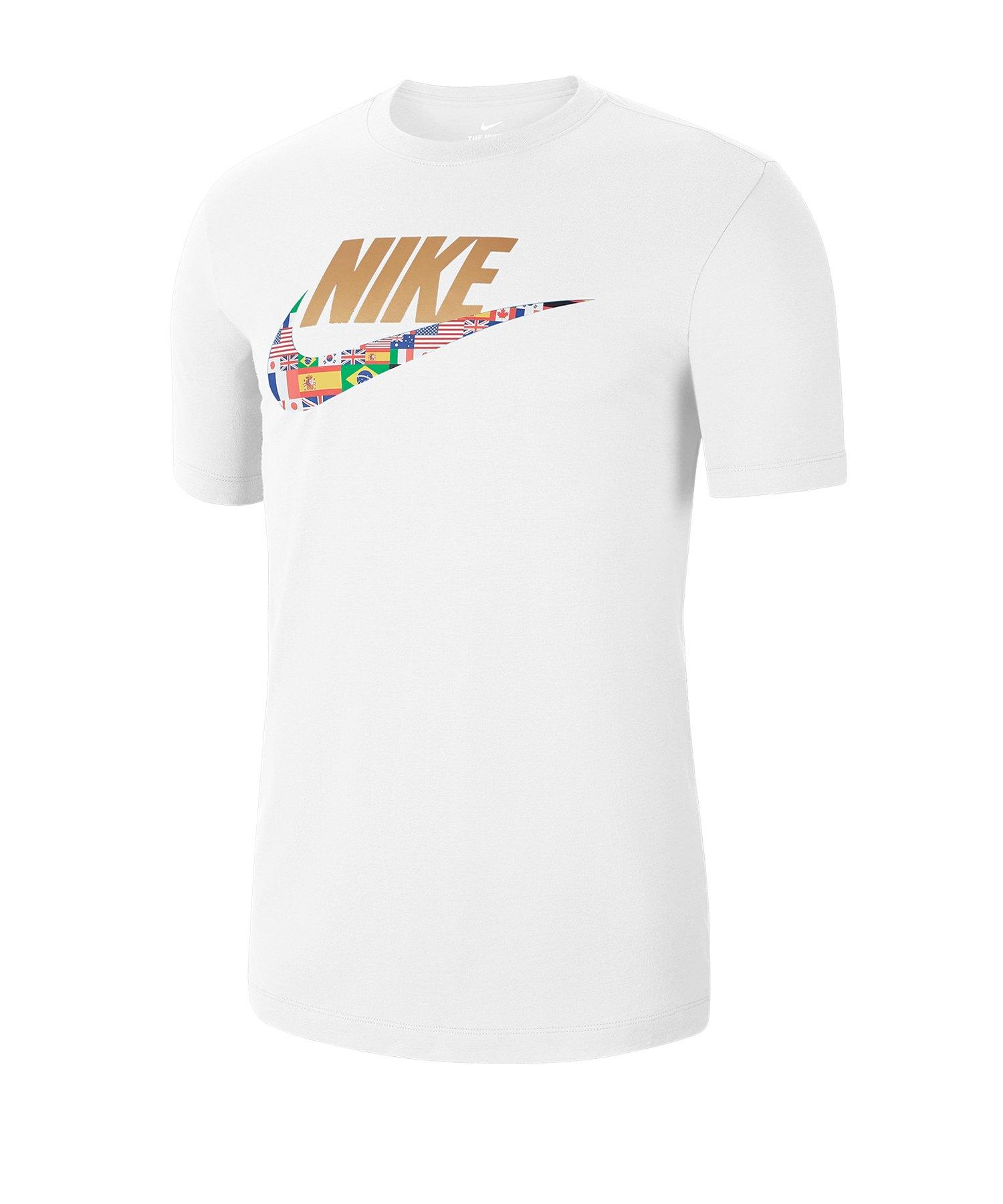 Nike Preheat Tee T-Shirt Weiss F100 - weiss