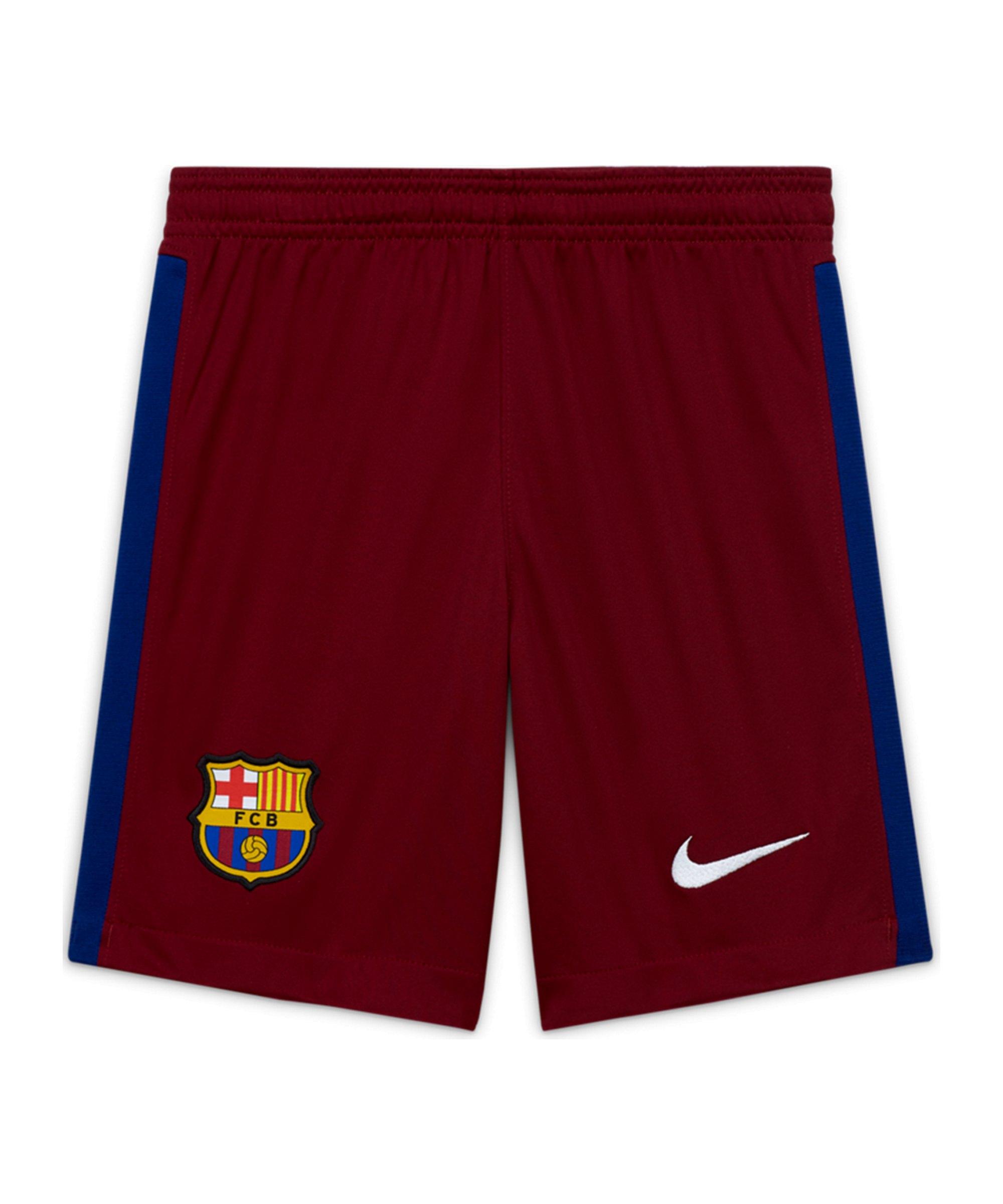 Nike FC Barcelona Torwartshort 2020/2021 Rot F677 - rot