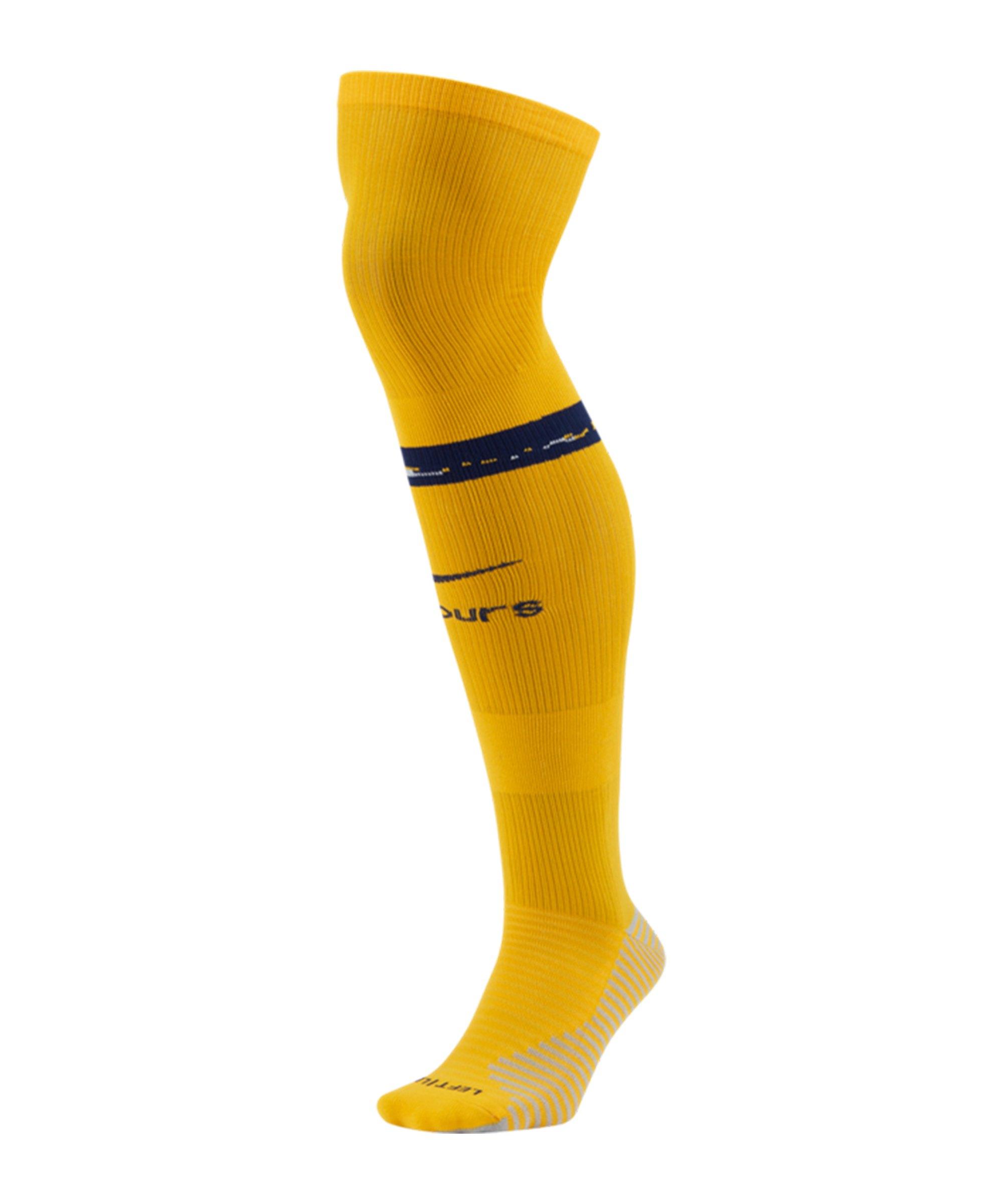 Nike Tottenham Hotspur Stutzen 3rd 2020/2021 Gelb F739 - gelb