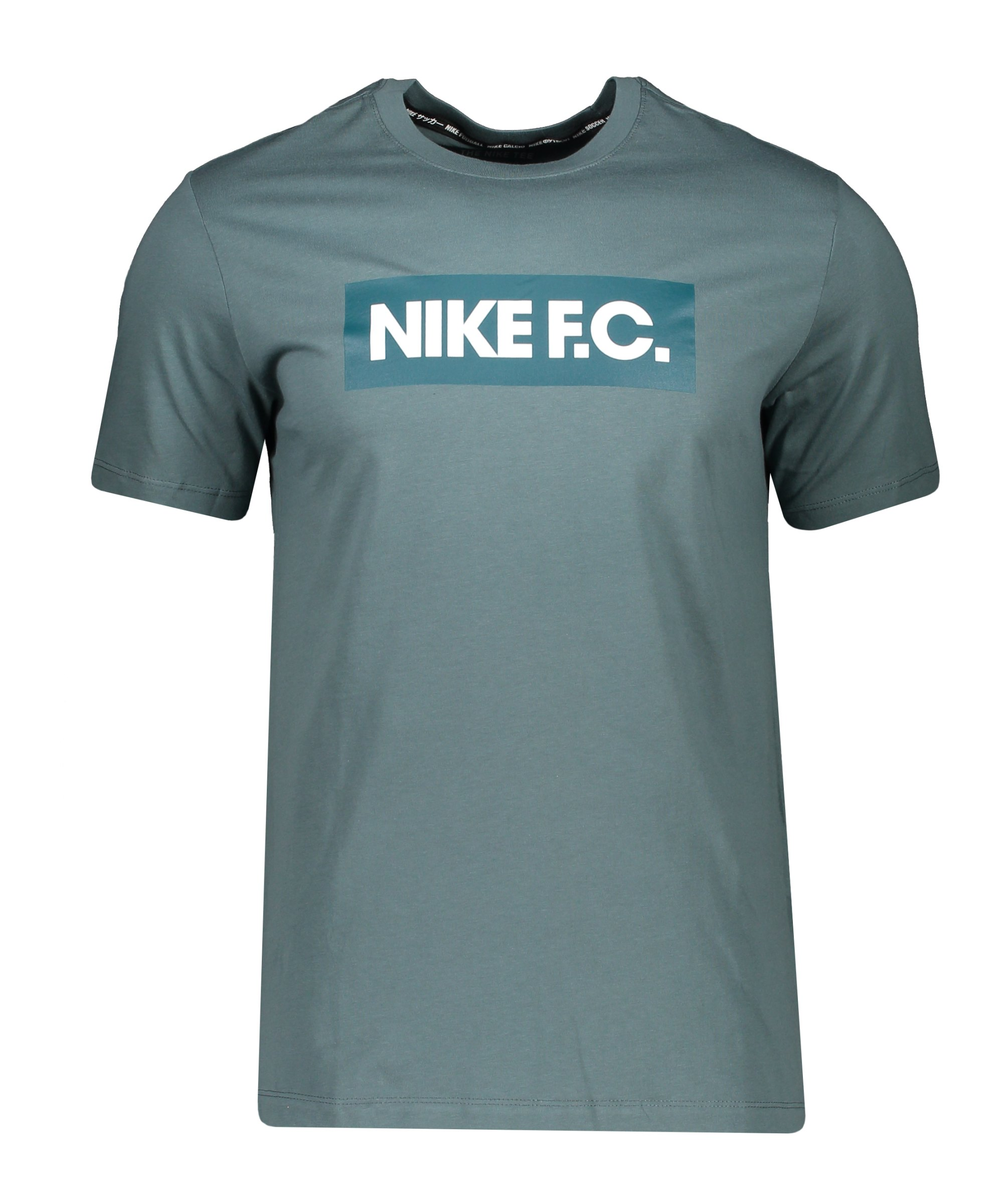 Nike F.C. Essential T-Shirt Grün F387 - gruen