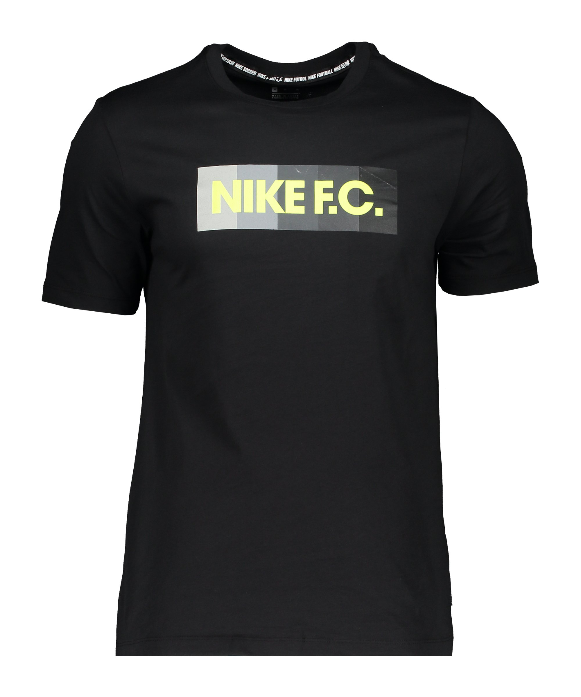 Nike F.C. Essential T-Shirt Schwarz F011 - schwarz