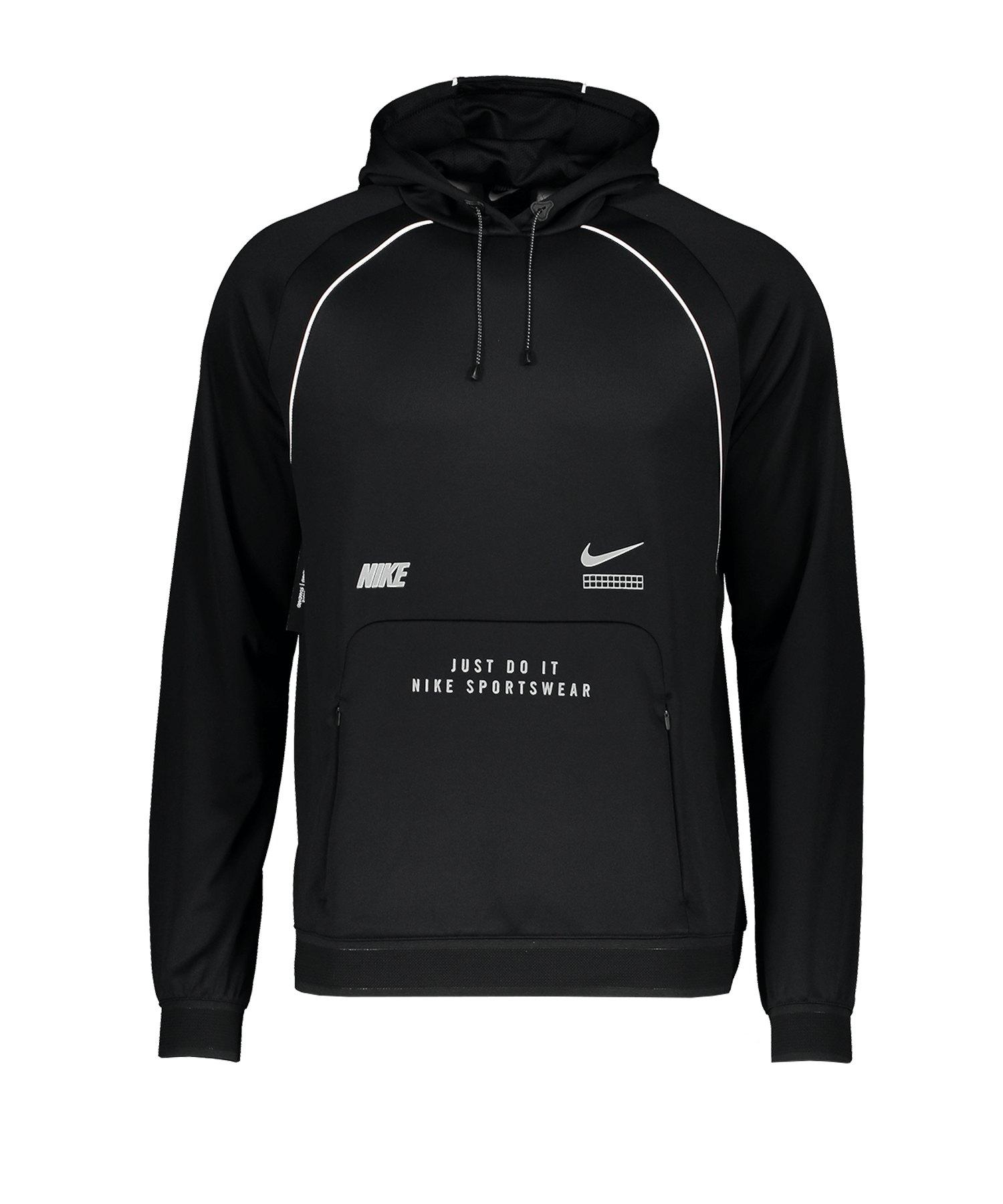 Nike DNA Kapuzenpullover Schwarz F010 - schwarz