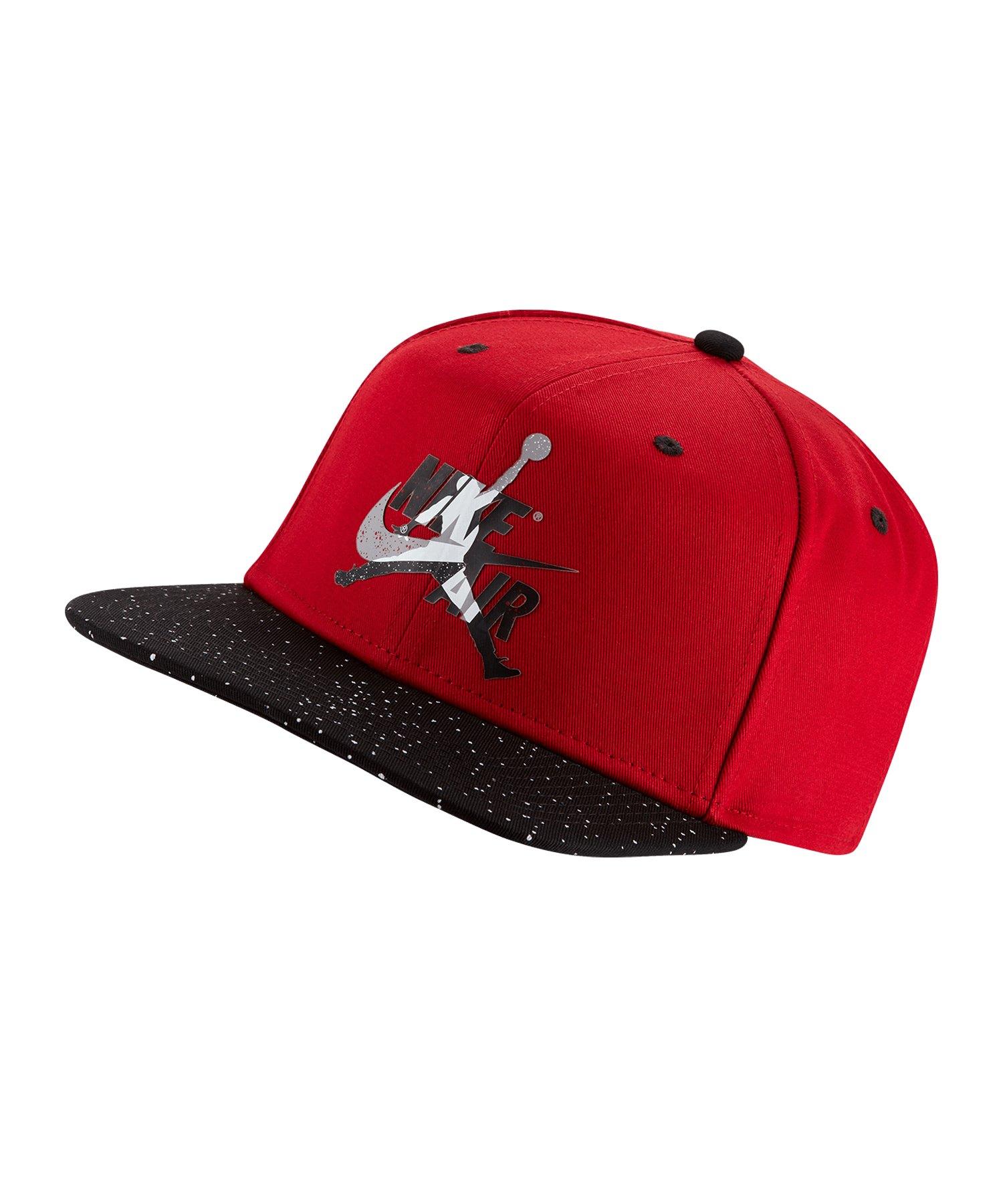 Jordan Pro Classics Cement Cap Mütze Rot F687 - rot