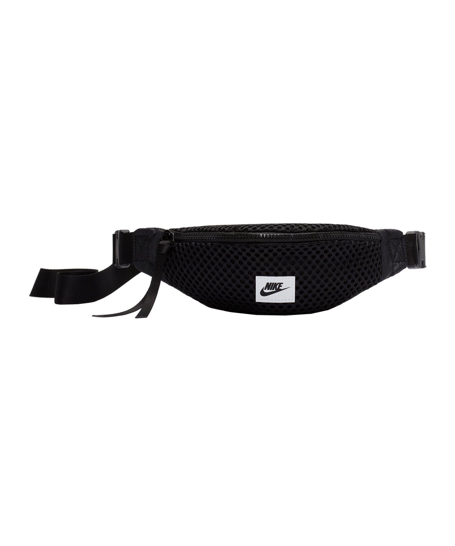 Nike Air Waist Pack Hüftasche Schwarz F010 - schwarz