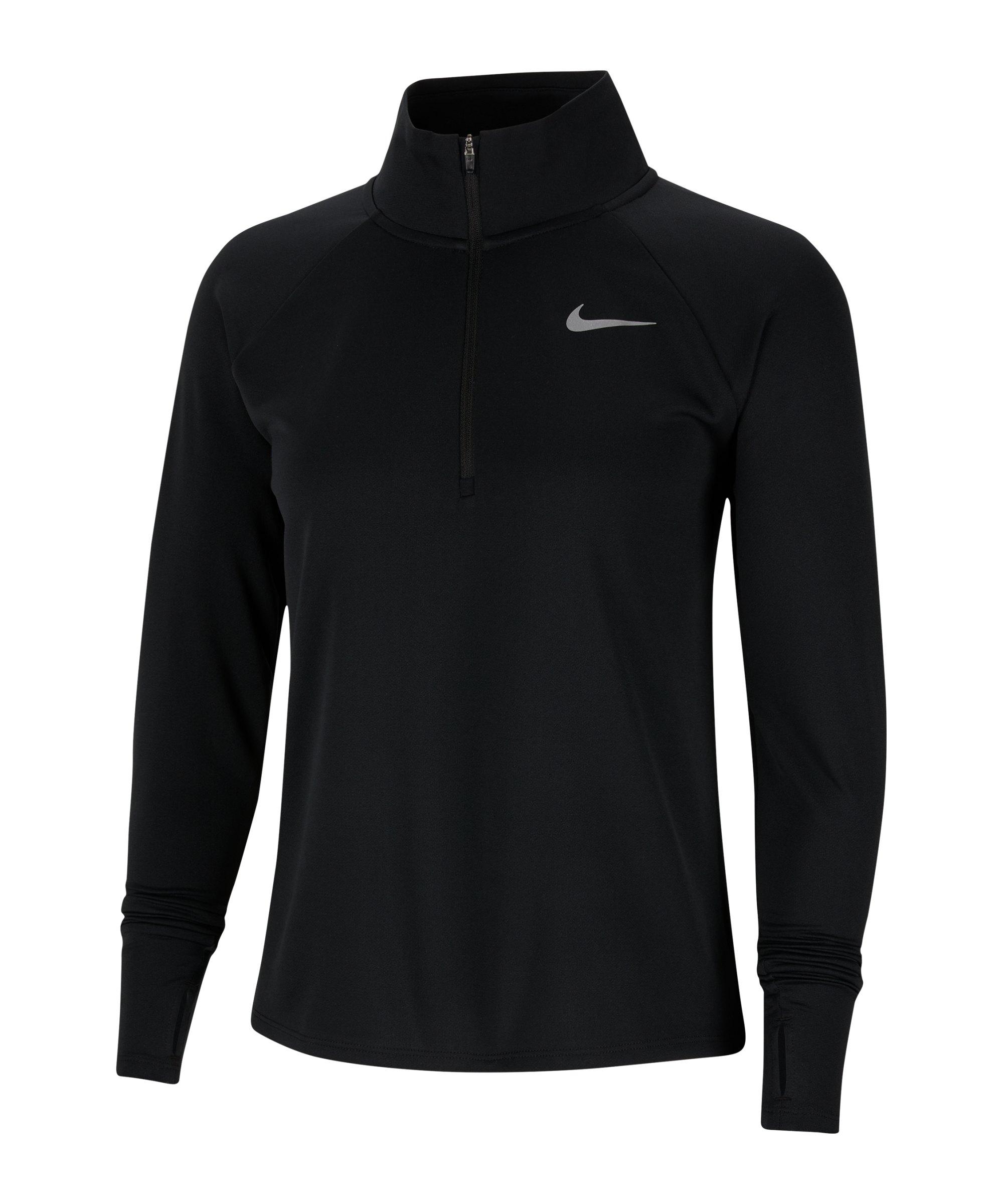 Nike Pacer Shirt langarm Running Damen F010 - schwarz