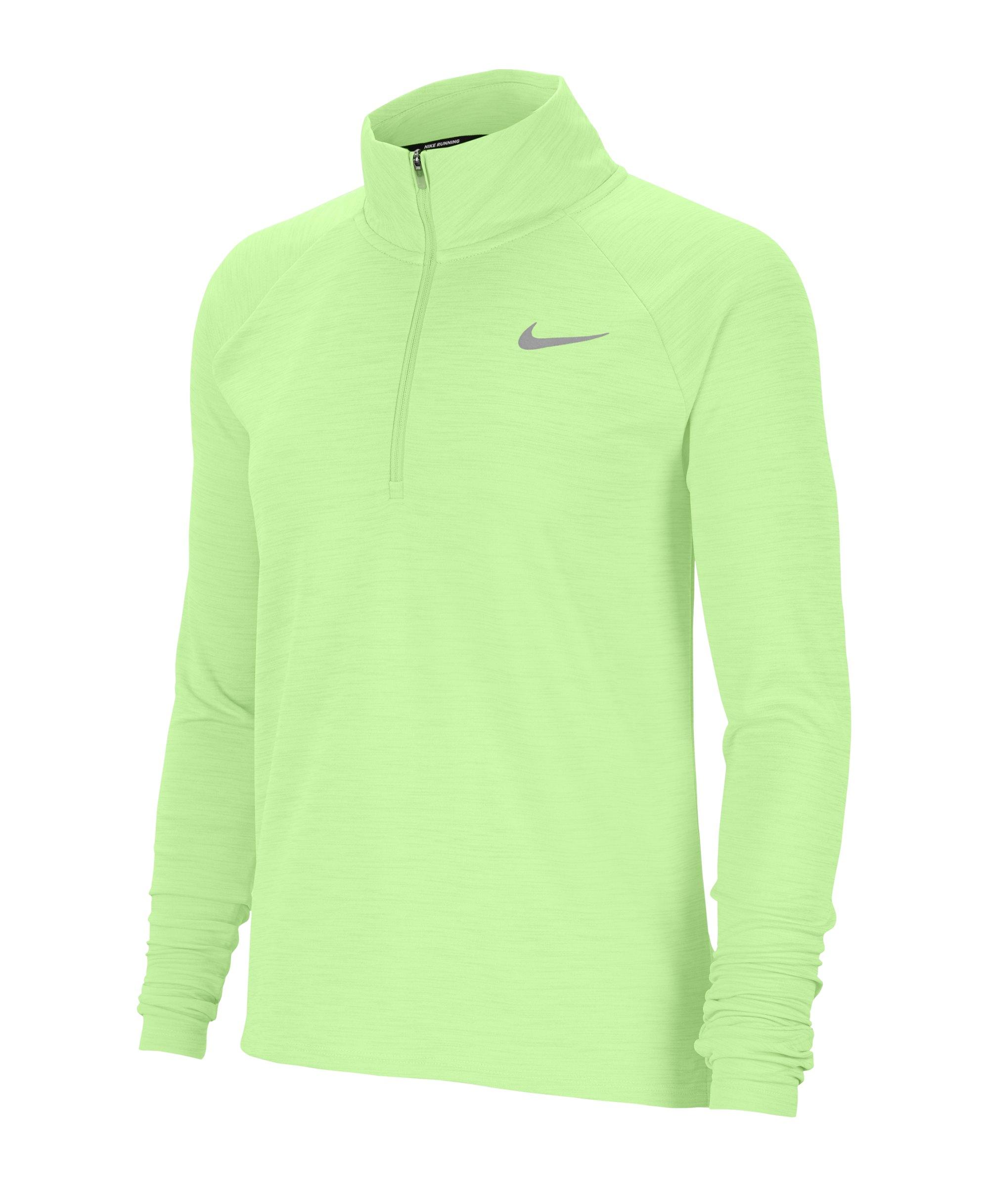 Nike Pacer Shirt langarm Running Damen F701 - gelb