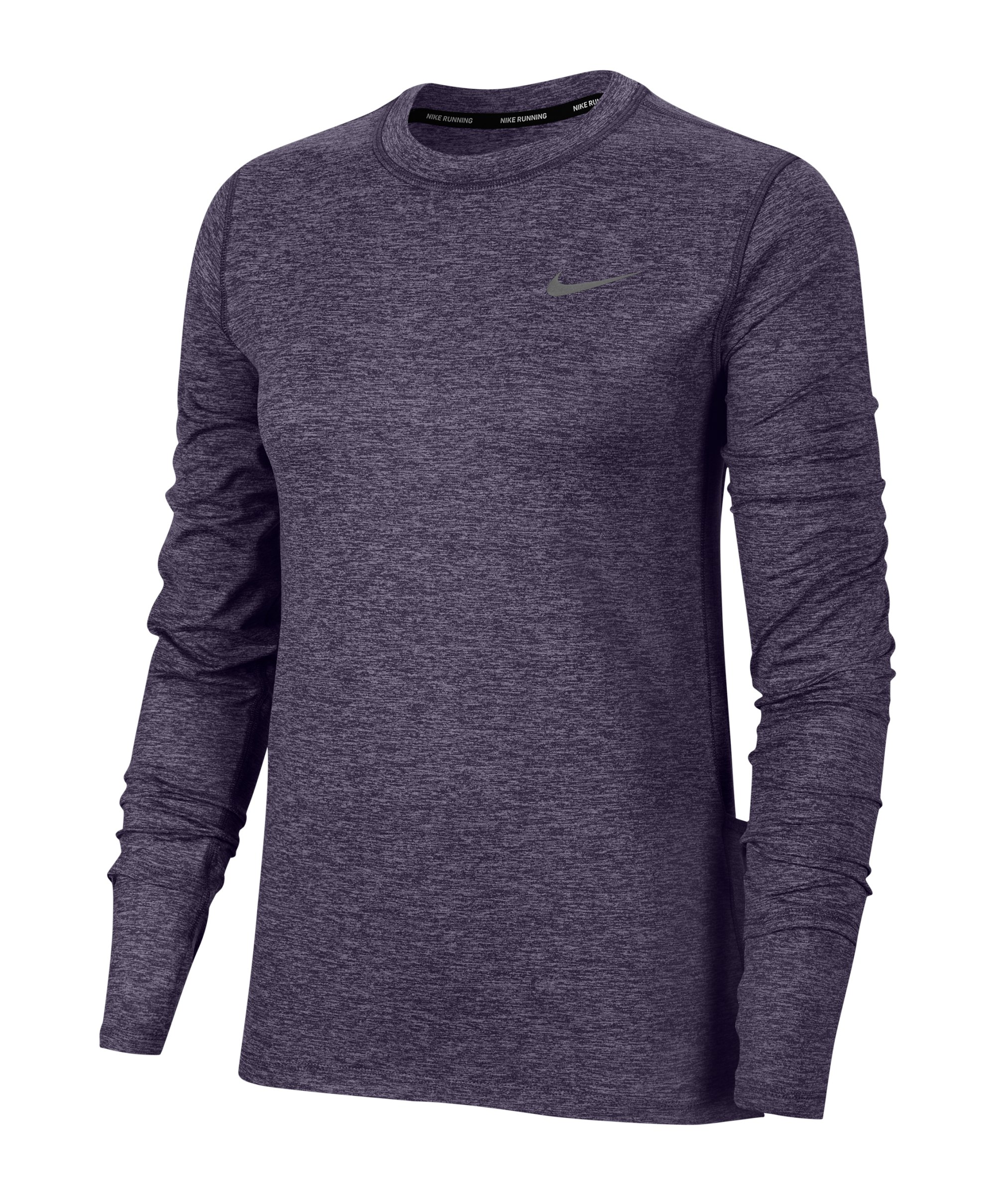 Nike Element Crew Sweatshirt Running Damen F573 - lila